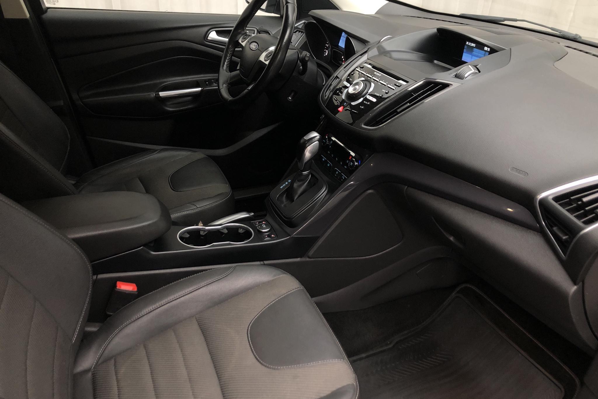Ford Kuga 2.0 TDCi 4WD (140hk) - 18 076 mil - Automat - grön - 2014