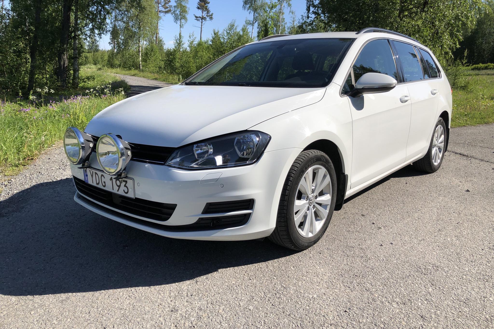 VW Golf VII 1.4 TSI Multifuel Sportscombi (125hk)