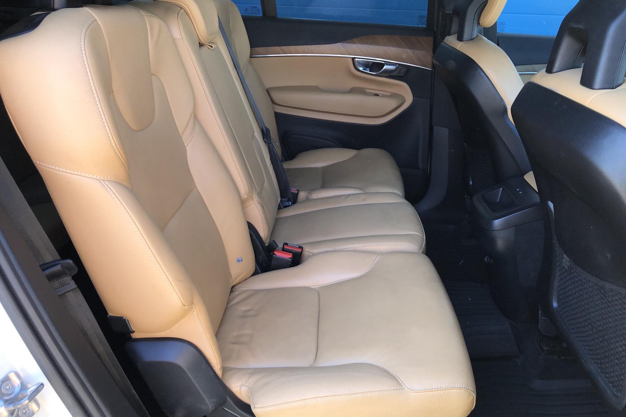 Volvo XC90 T5 AWD (254hk) - 6 446 mil - Automat - vit - 2017