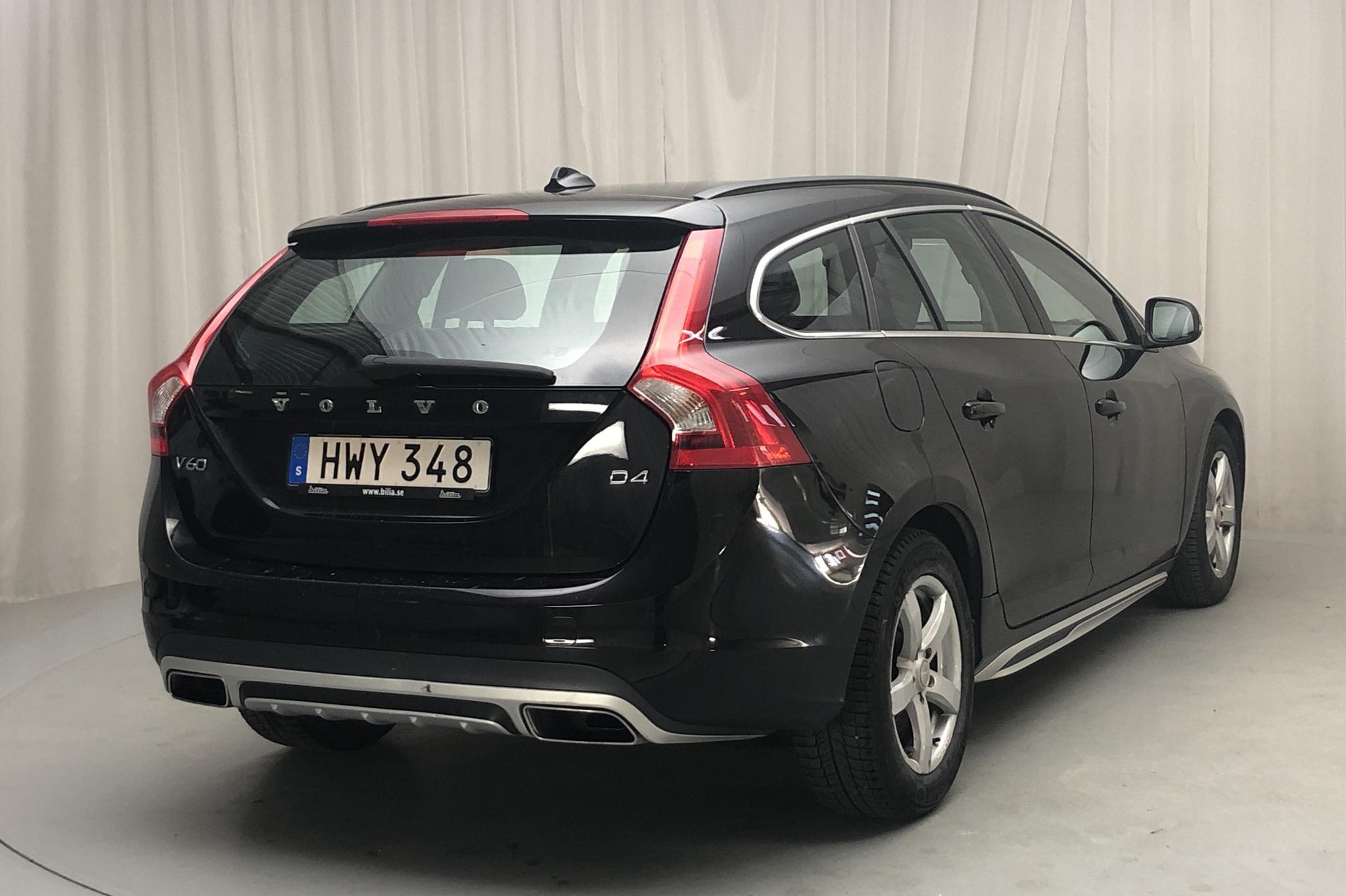 Volvo V60 D4 (181hk) - 18 856 mil - Automat - svart - 2015