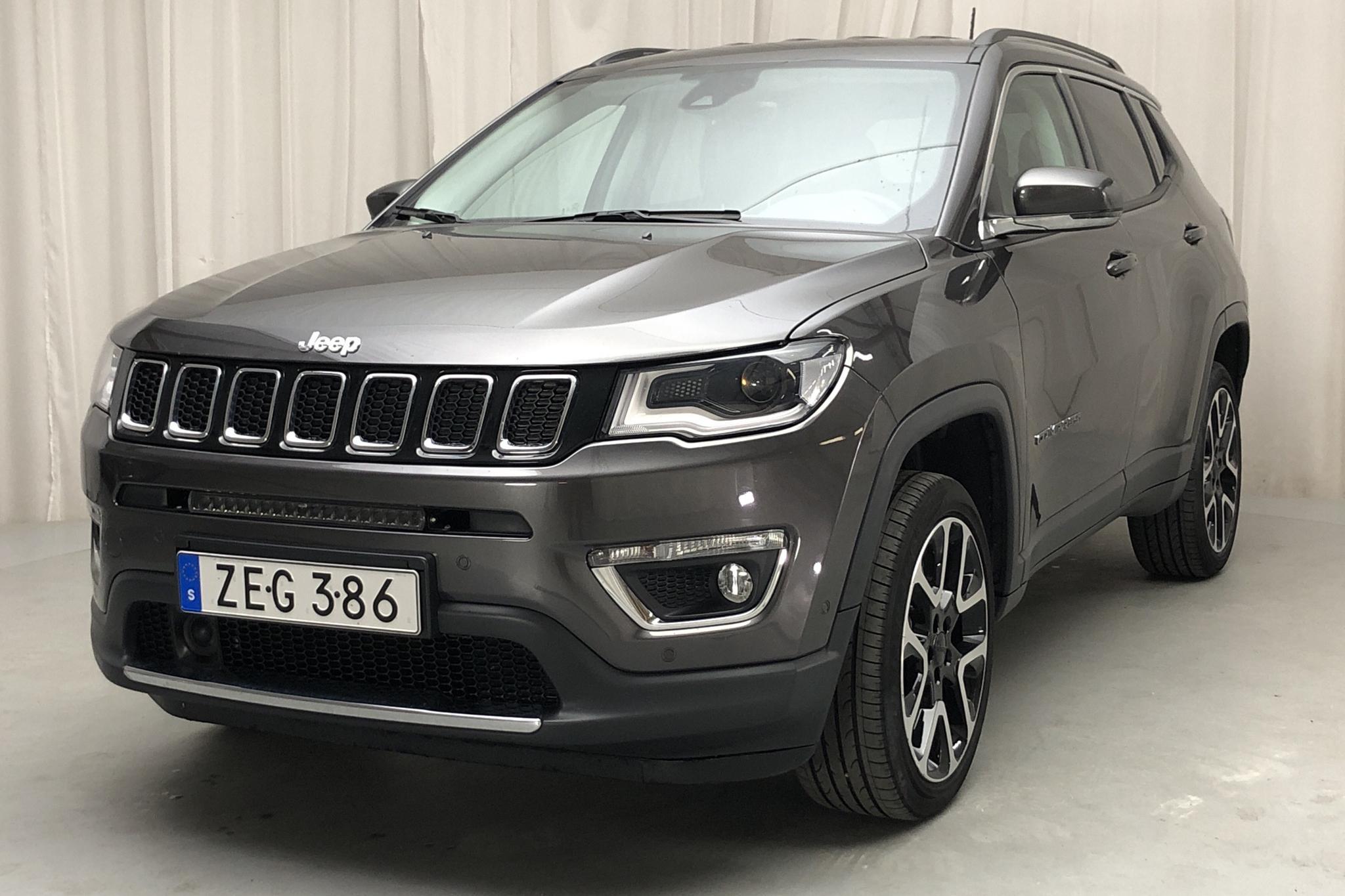 Jeep Compass 2.0 Multijet 4WD (170hk) - 57 400 km - Automatic - gray - 2018