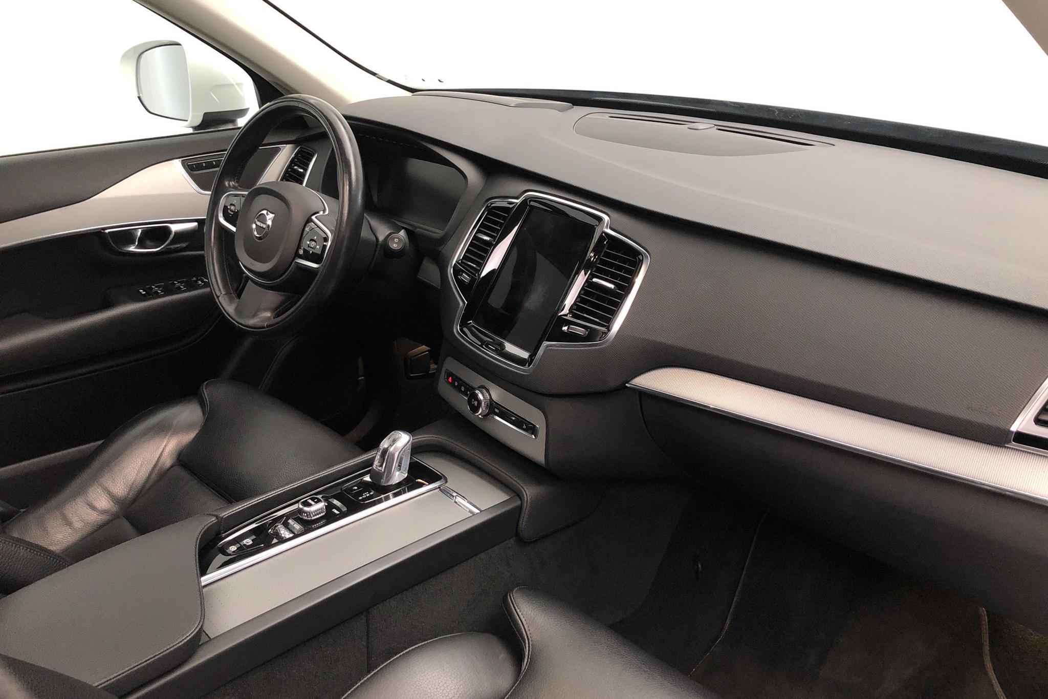Volvo XC90 T8 AWD Twin Engine (400hk) - 12 305 mil - Automat - vit - 2016
