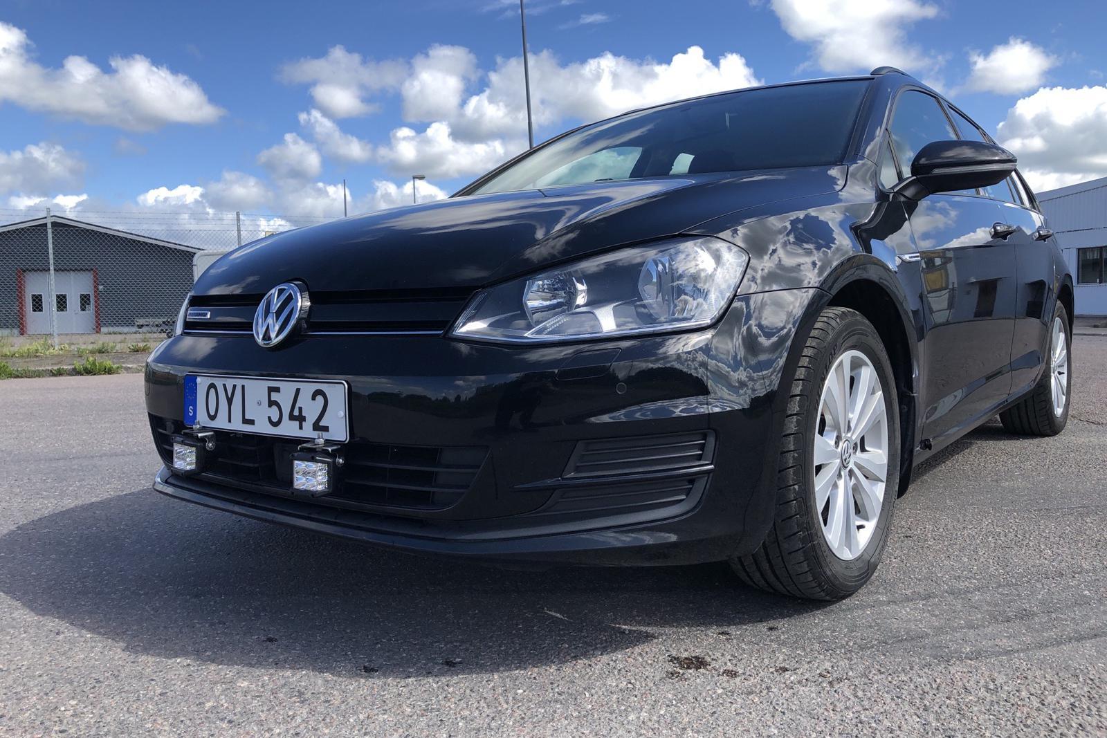 VW Golf VII 1.4 TGI BlueMotion Sportscombi (110hk)