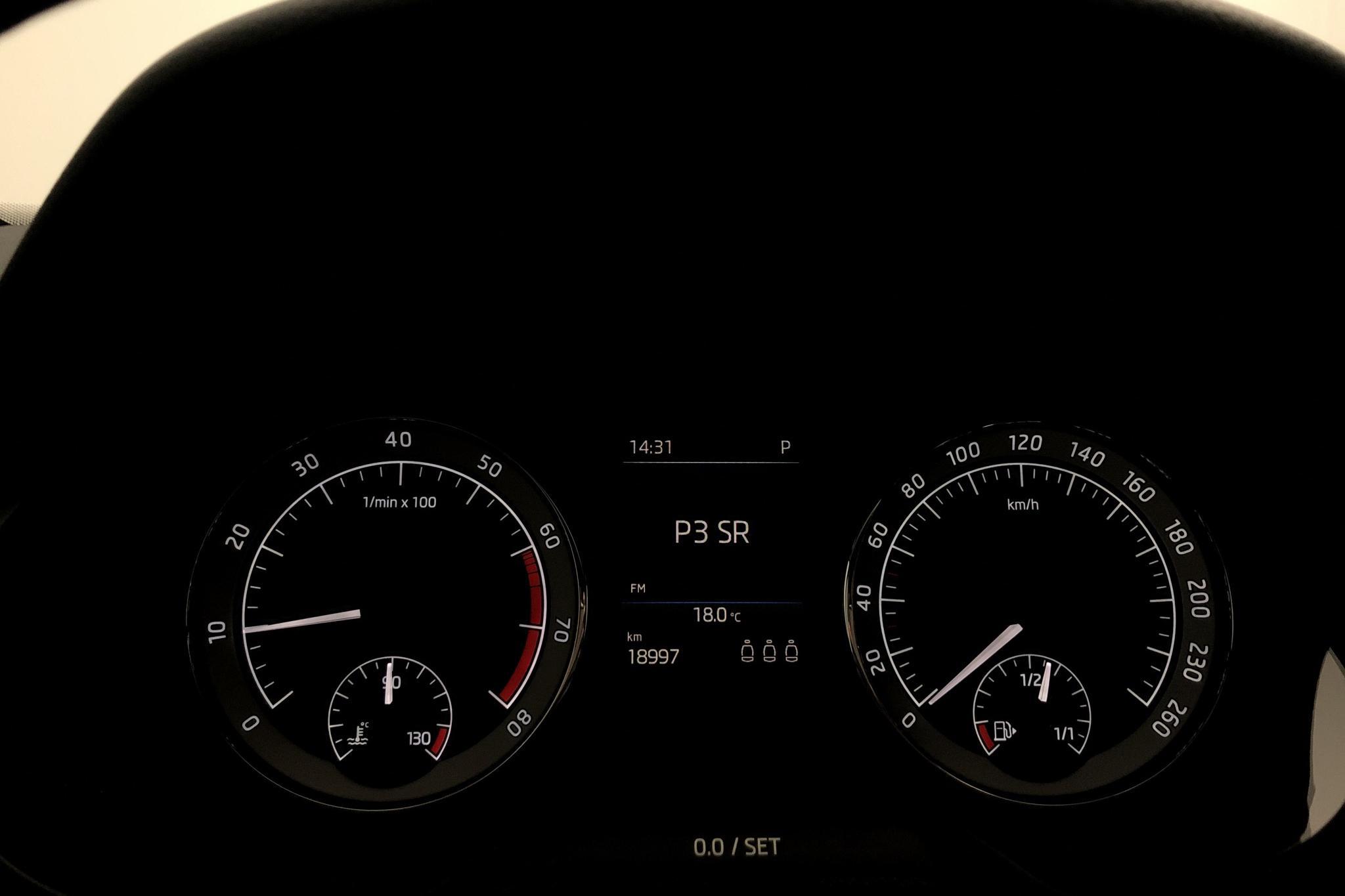 Skoda Octavia III 1.0 TSI Combi (115hk) - 18 970 km - Automatic - white - 2019
