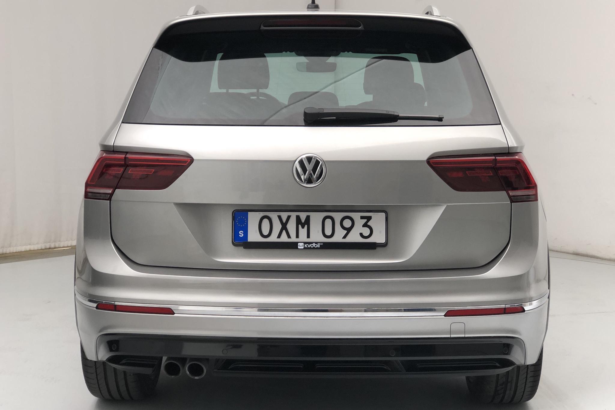 VW Tiguan 2.0 TDI 4MOTION (190hk) - 96 590 km - Automatic - silver - 2018