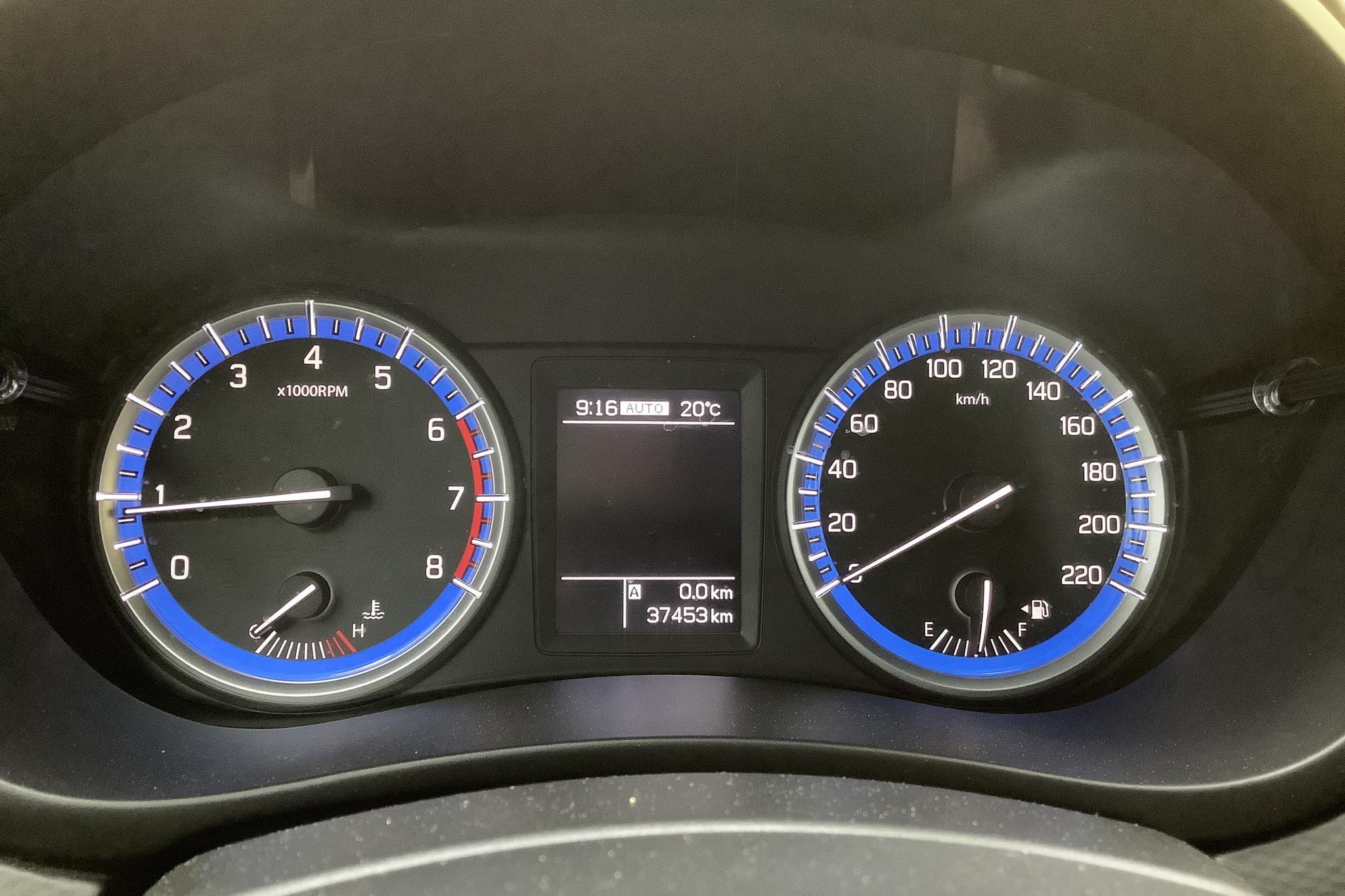 Suzuki S-Cross 1.6 4x4 (120hk) - 37 460 km - Manual - blue - 2015
