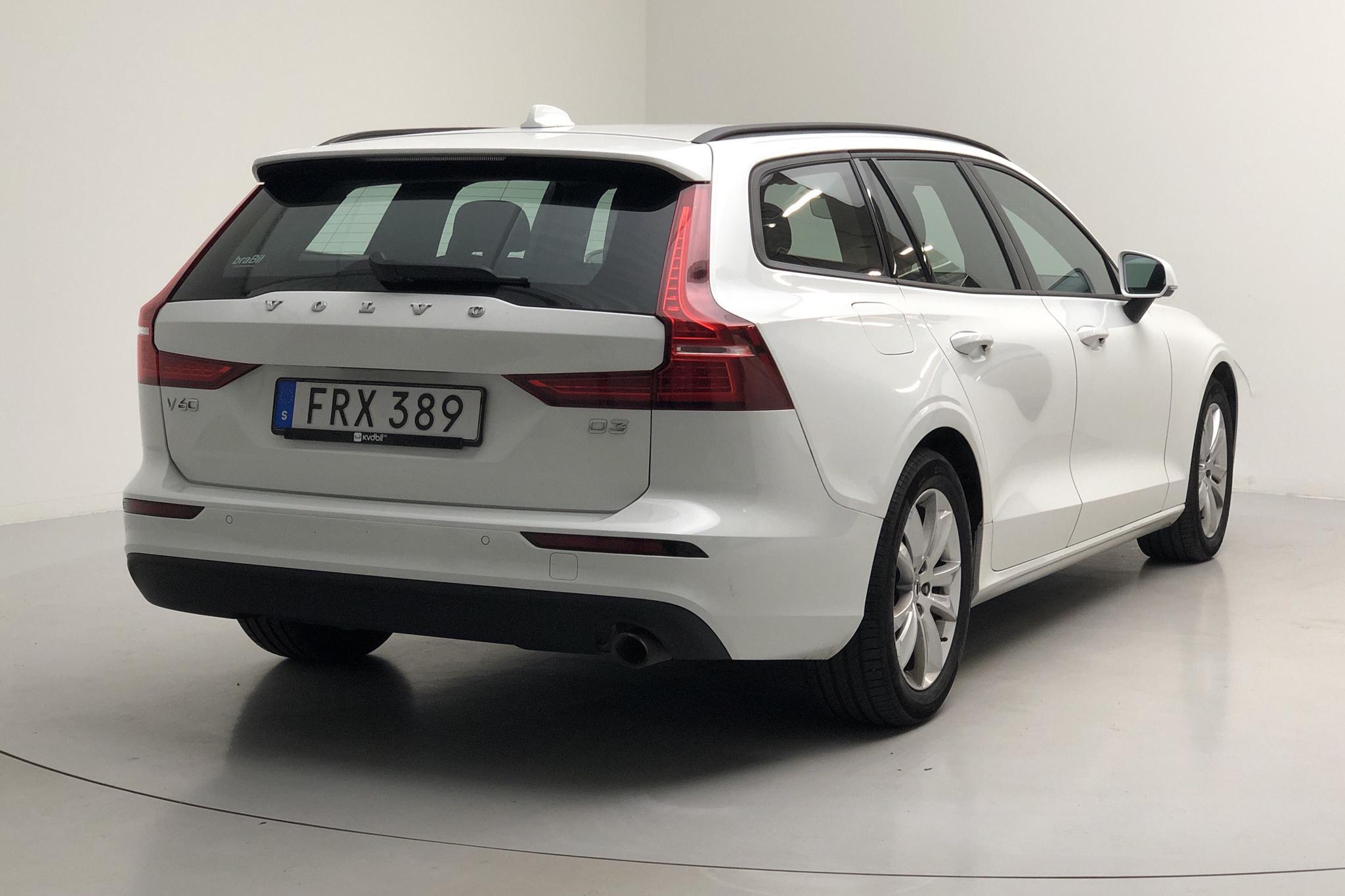 Volvo V60 D3 (150hk) - 10 259 mil - Automat - vit - 2019