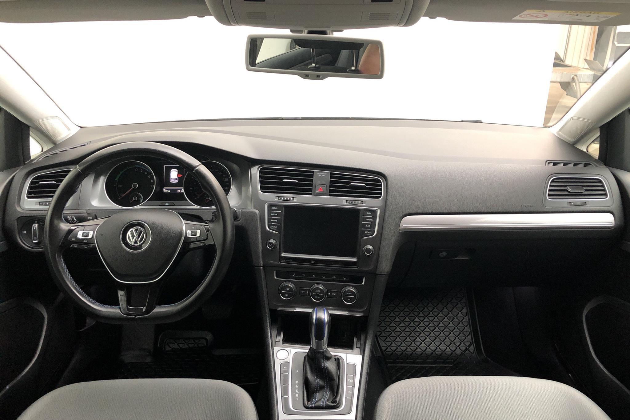 VW e-Golf VII 5dr (115hk) - 7 056 mil - Automat - vit - 2016