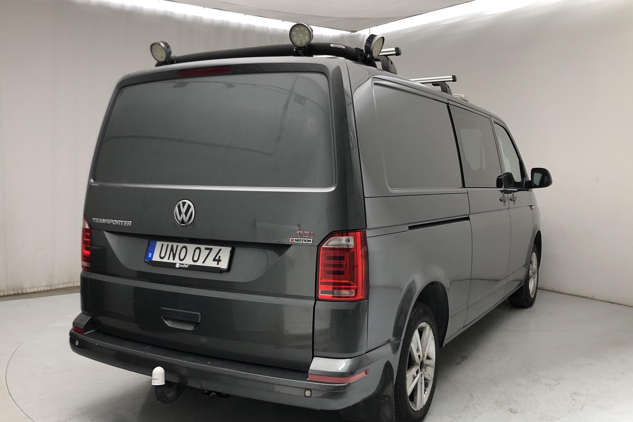 VW Transporter Kombi T6 2.0 TDI BMT 4MOTION (204hk) - 17 849 mil - Automat - grå - 2016