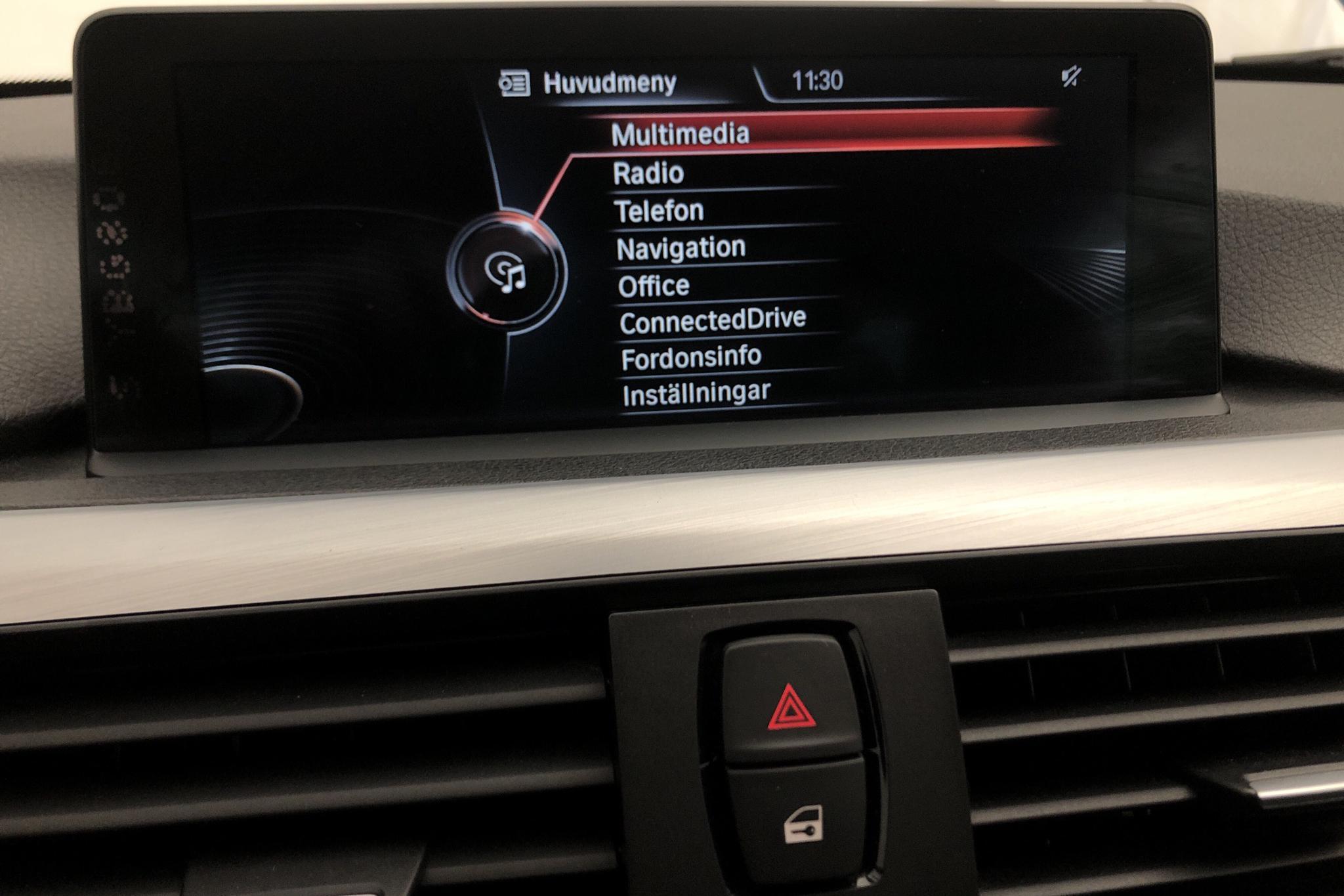BMW 435d xDrive Cabriolet, F33 (313hk) - 5 928 mil - Automat - vit - 2015