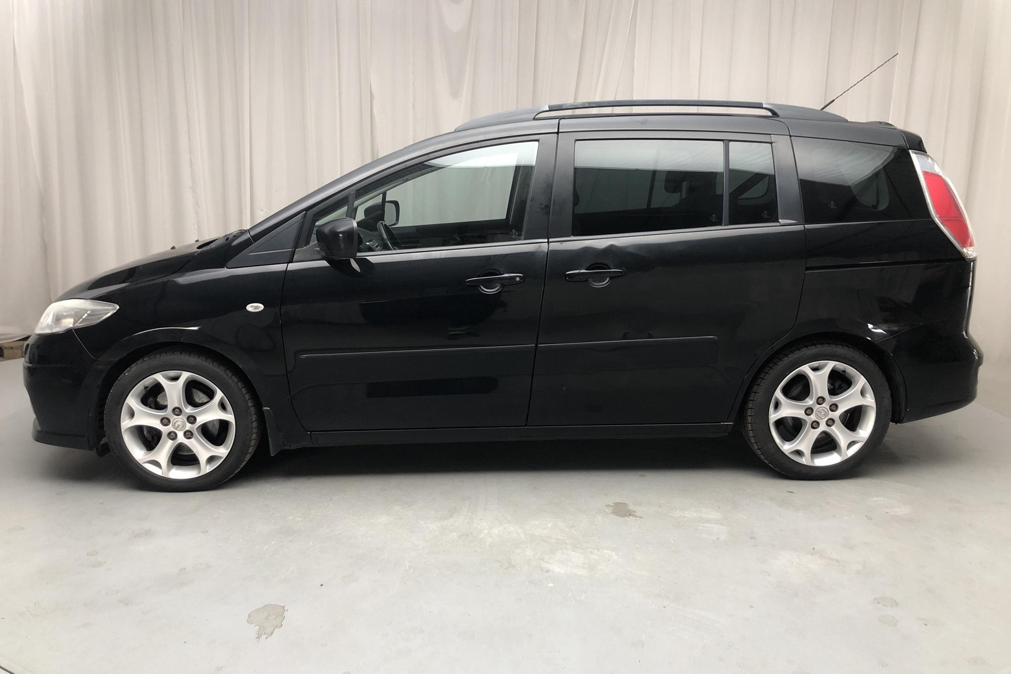 Mazda 5 2.0 DE (143hk) - 170 450 km - Manual - black - 2009