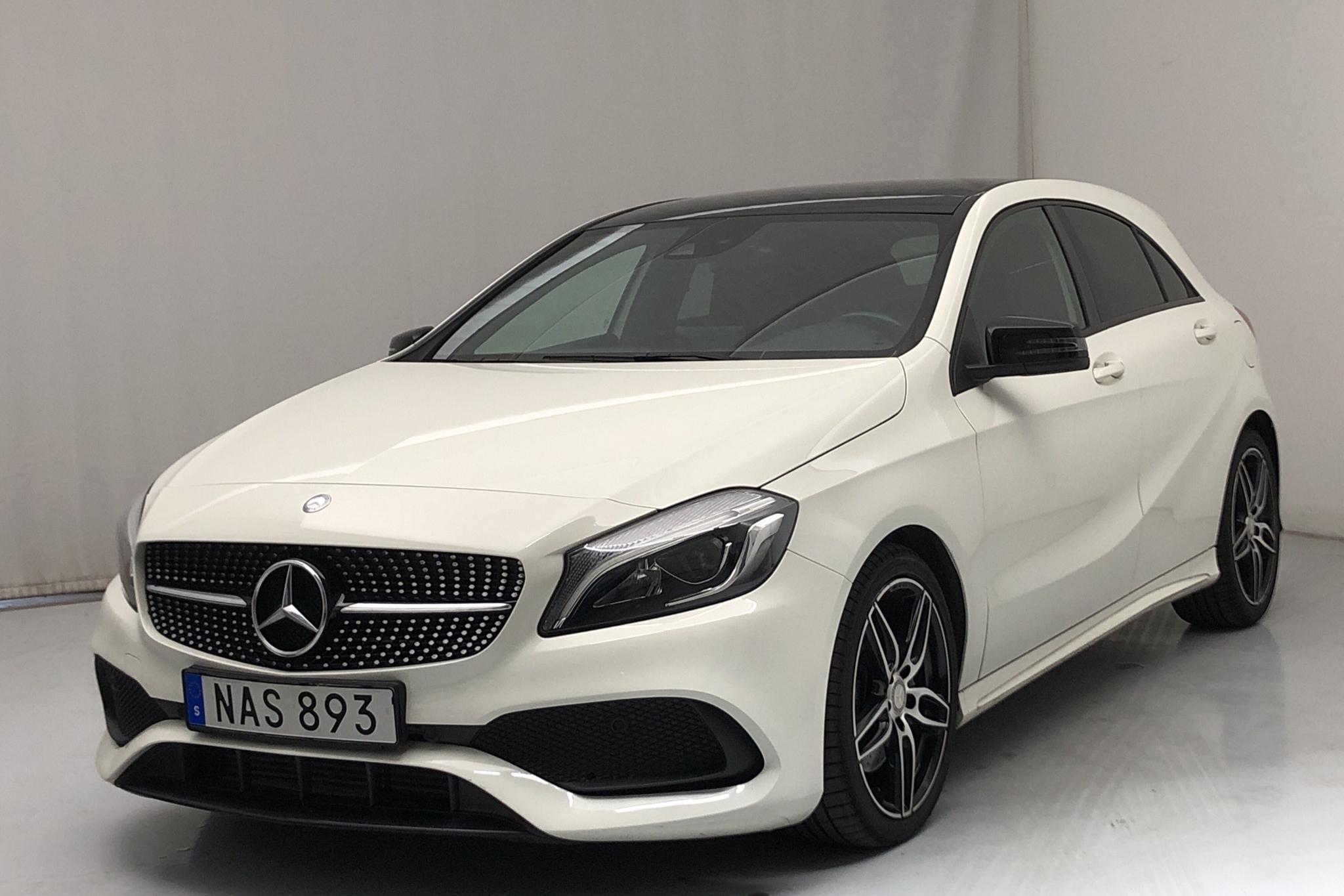 Mercedes A 220 d 4MATIC 5dr W176 (177hk) - 44 440 km - Automatic - white - 2017