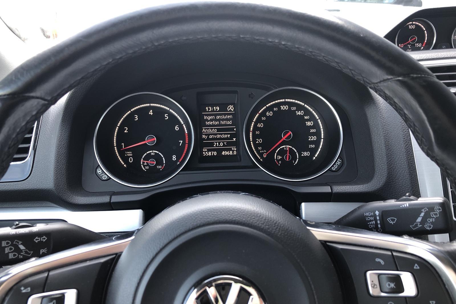 VW Scirocco 1.4 TSI (180hk) - 55 870 km - Manual - white - 2015