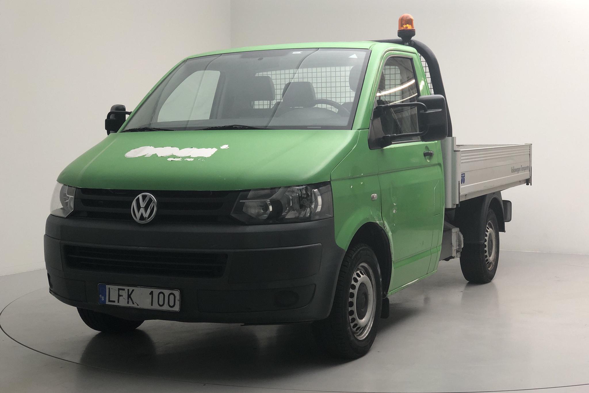 VW Transporter T5 2.0 Ecofuel Pickup (115hk) - 6 486 mil - Manuell - vit - 2013