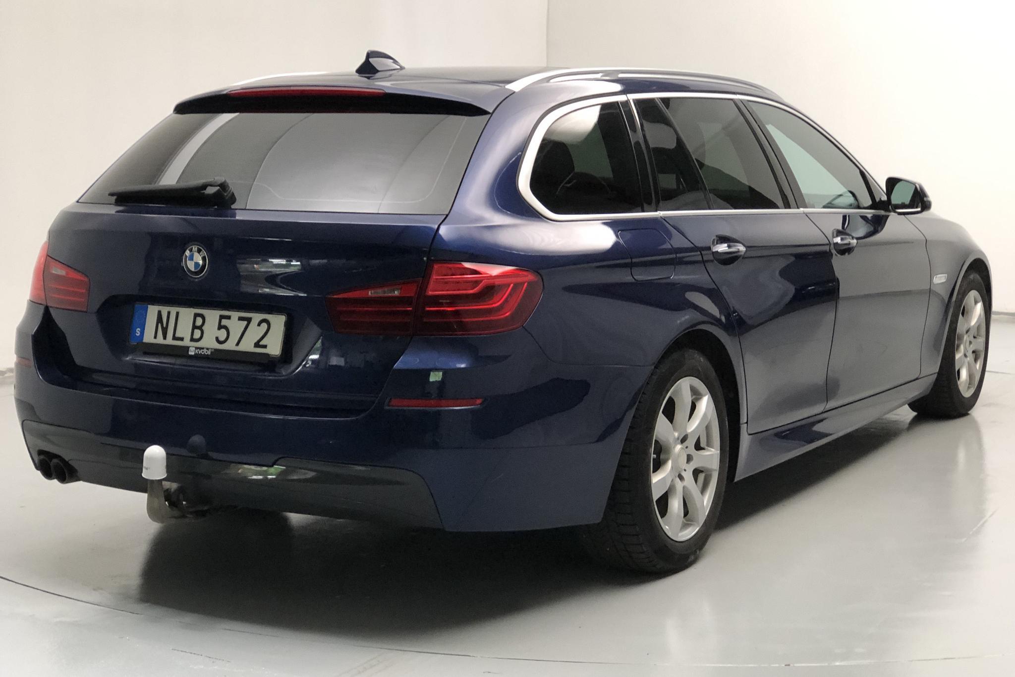 BMW 520d xDrive Touring, F11 (190hk) - 154 900 km - Automatic - blue - 2017