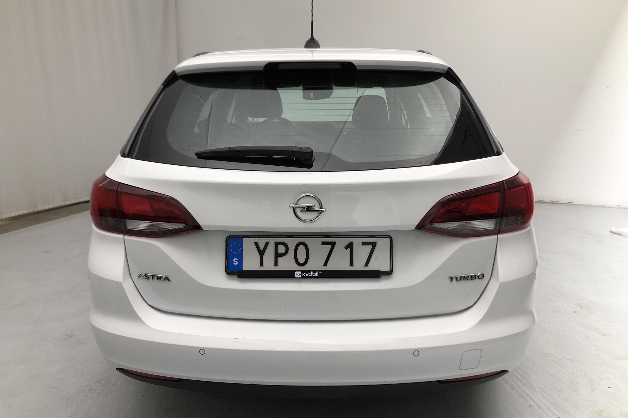 Opel Astra 1.4 Turbo ECOTEC SportsTourer (150hk) - 5 217 mil - Automat - vit - 2018