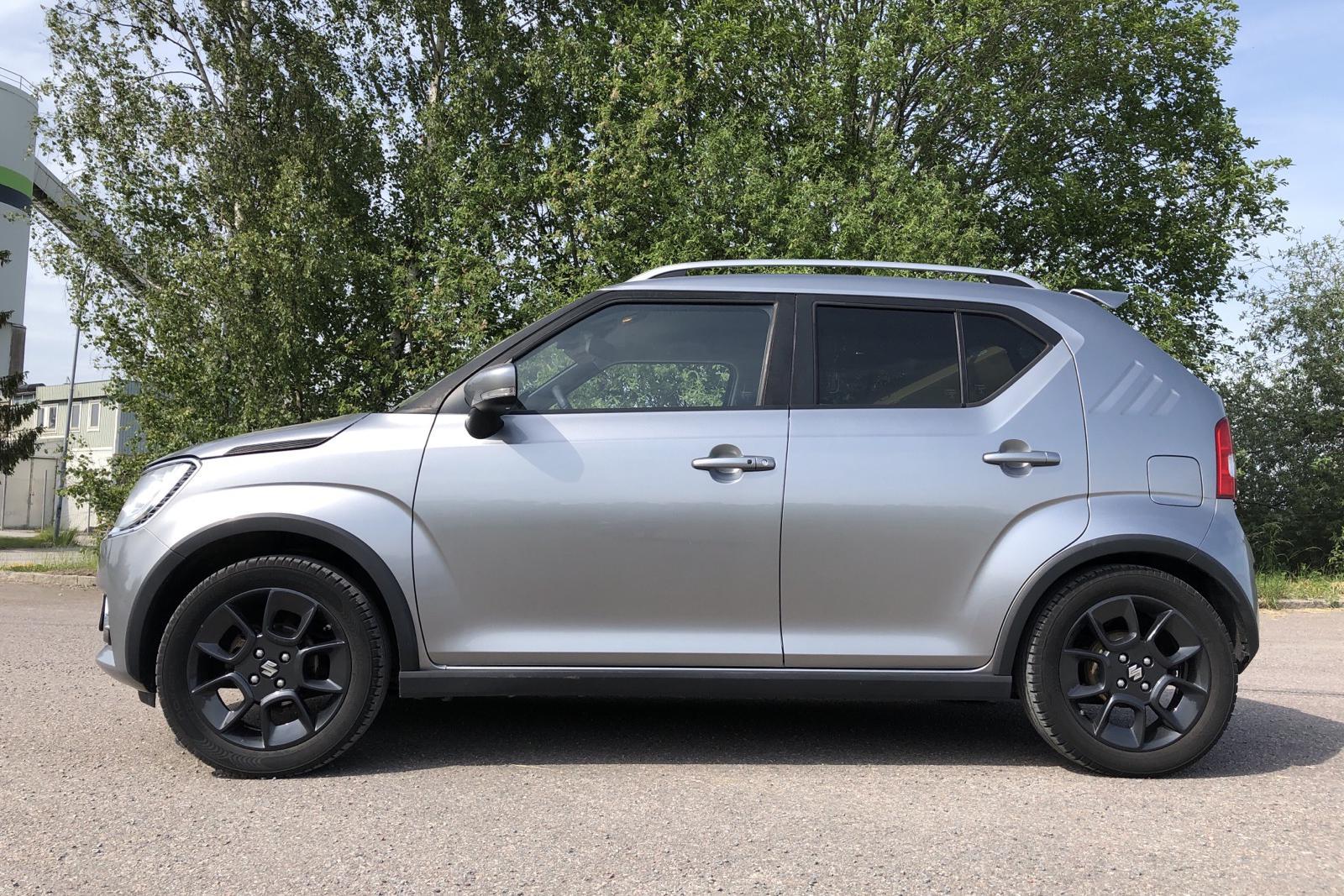 Suzuki Ignis 1.2 SHVS Allgrip 4WD (90hk) - 178 750 km - Manual - silver - 2017