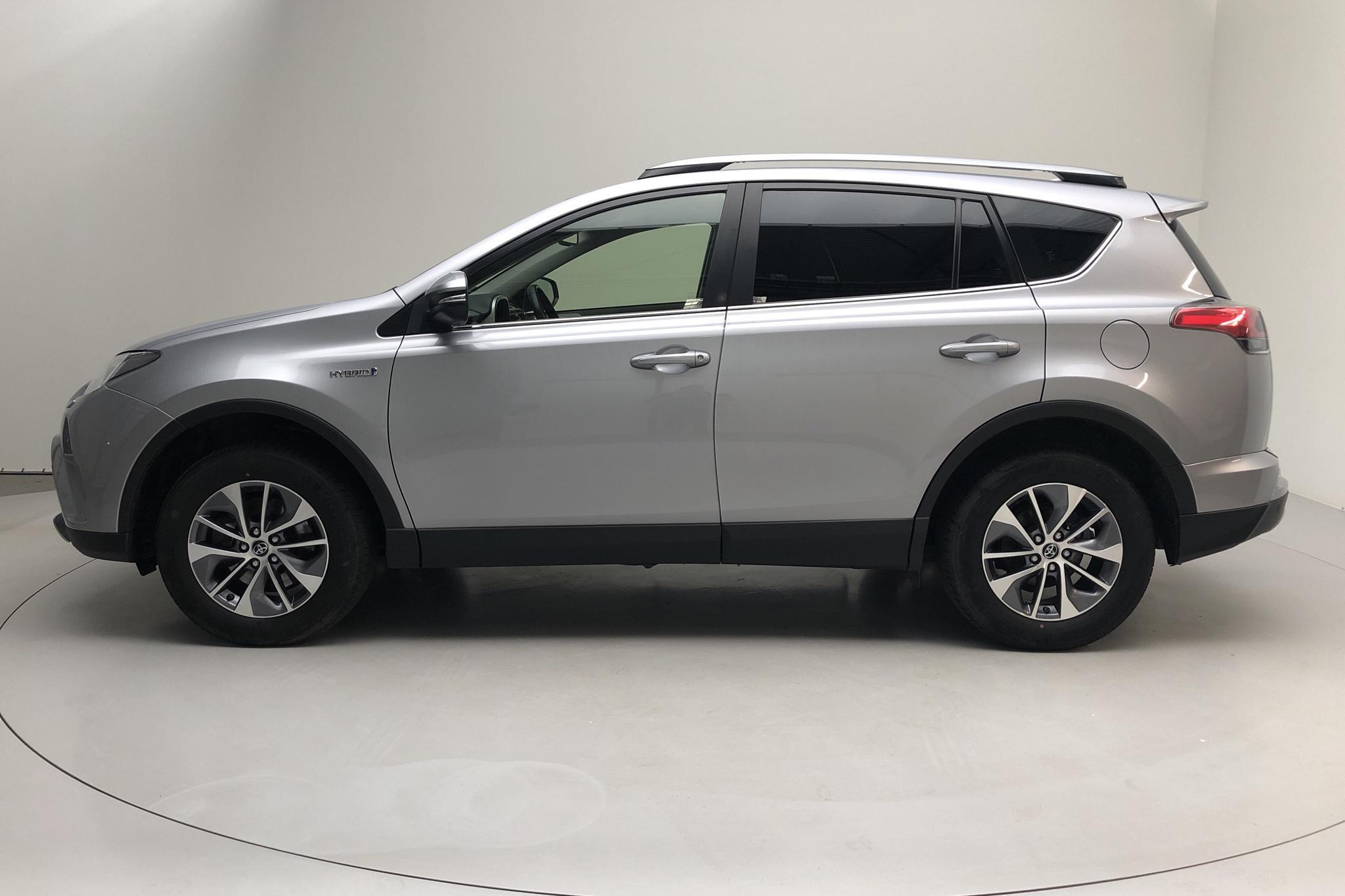 Toyota RAV4 2.5 HSD AWD (197hk) - 17 119 mil - Automat - silver - 2017