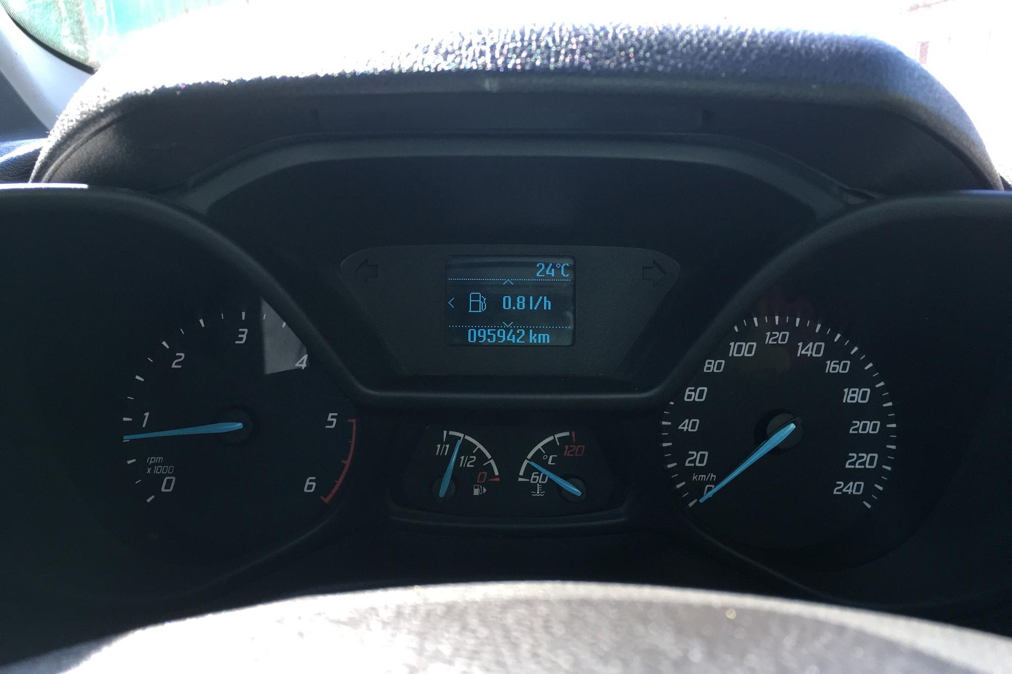 Ford Transit Connect 1.6 TDCi (95hk) - 9 594 mil - Manuell - vit - 2014