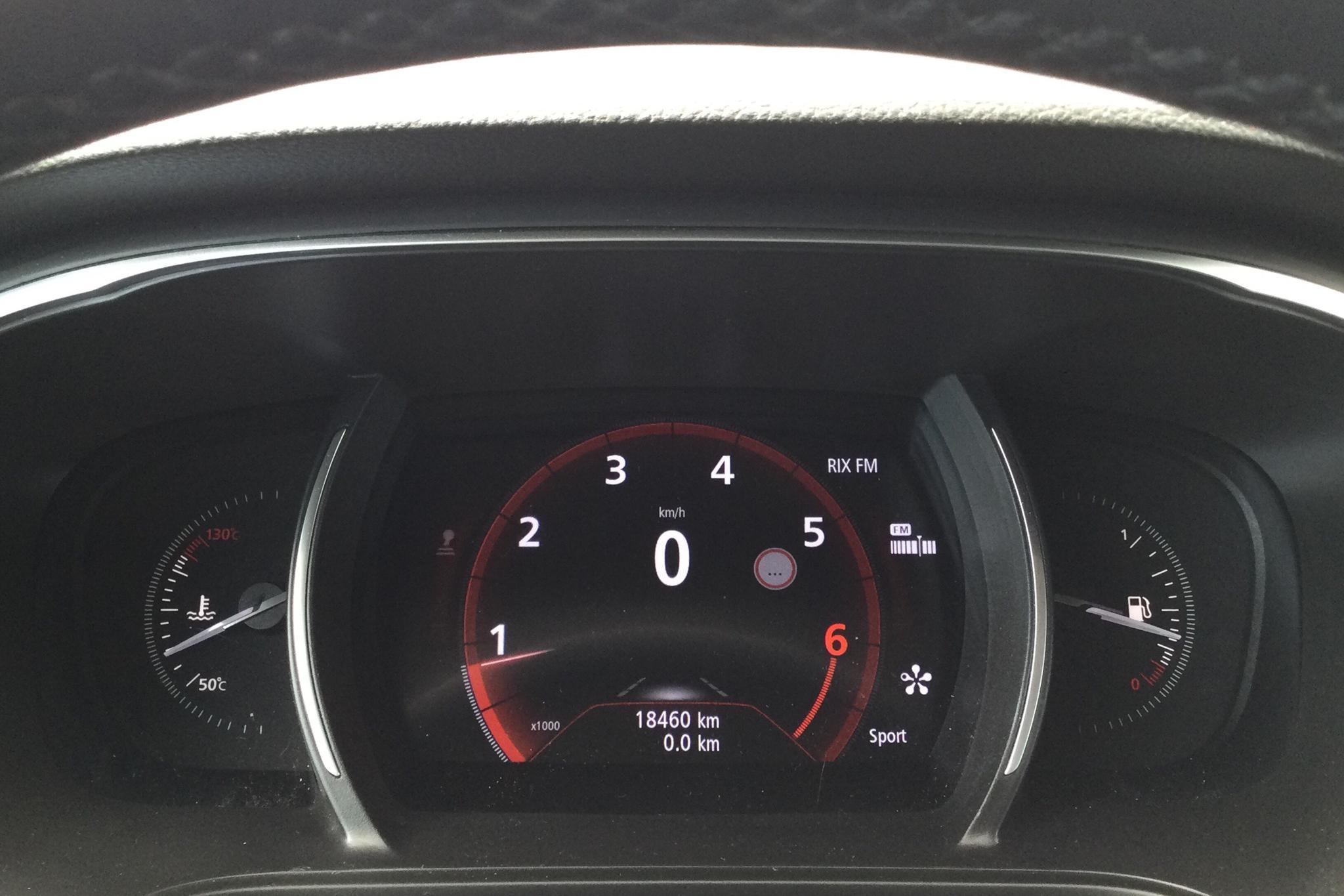 Renault Mégane 1.2 TCe 5dr (130hk) - 18 470 km - Manual - gray - 2018