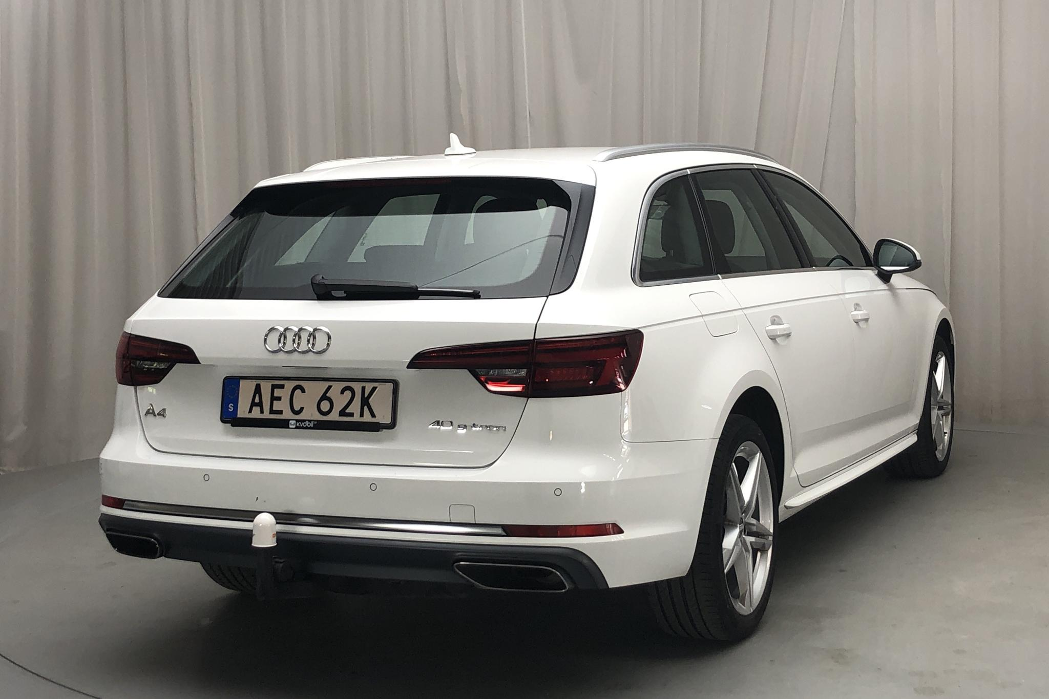 Audi A4 Avant 40 g-tron (170hk) - 4 793 mil - Automat - vit - 2019
