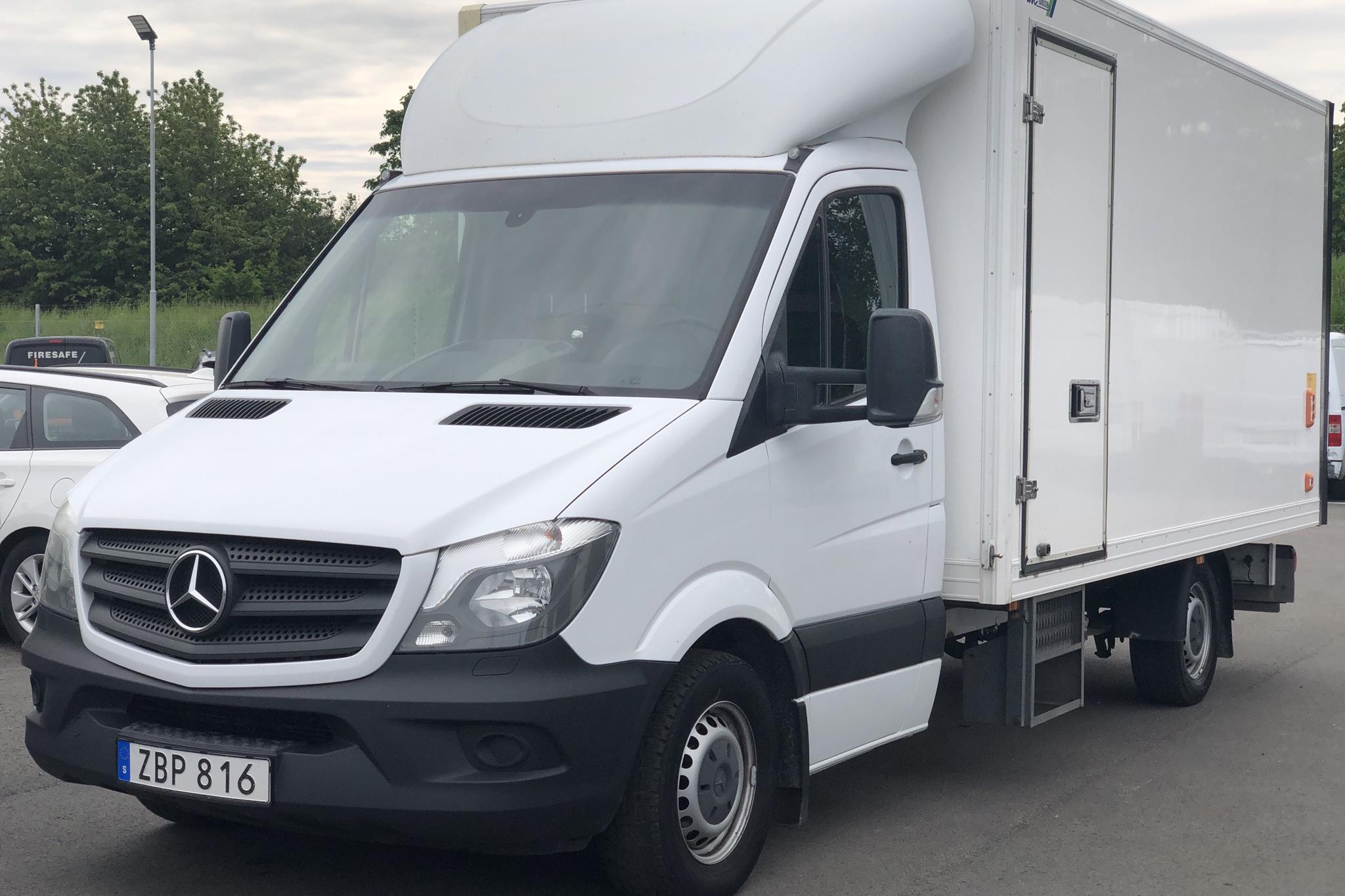 Mercedes Sprinter 316 CDI Volymskåp (163hk) - 200 500 km - Automatic - white - 2018