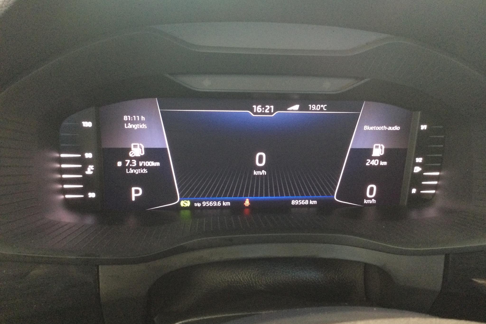 Skoda Kodiaq 2.0 TDI 4X4 (190hk) - 89 560 km - Automatic - black - 2019