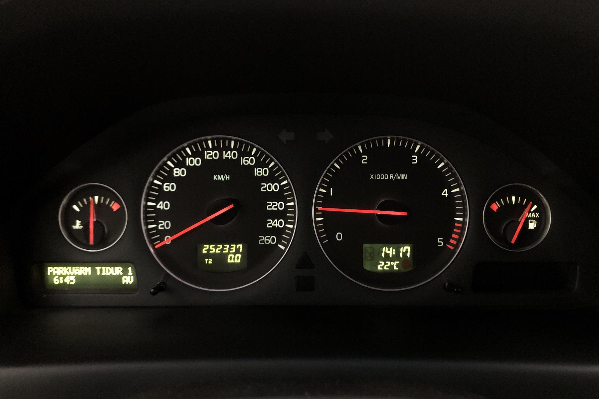 Volvo XC70 D5 (185hk) - 252 330 km - Manual - black - 2007