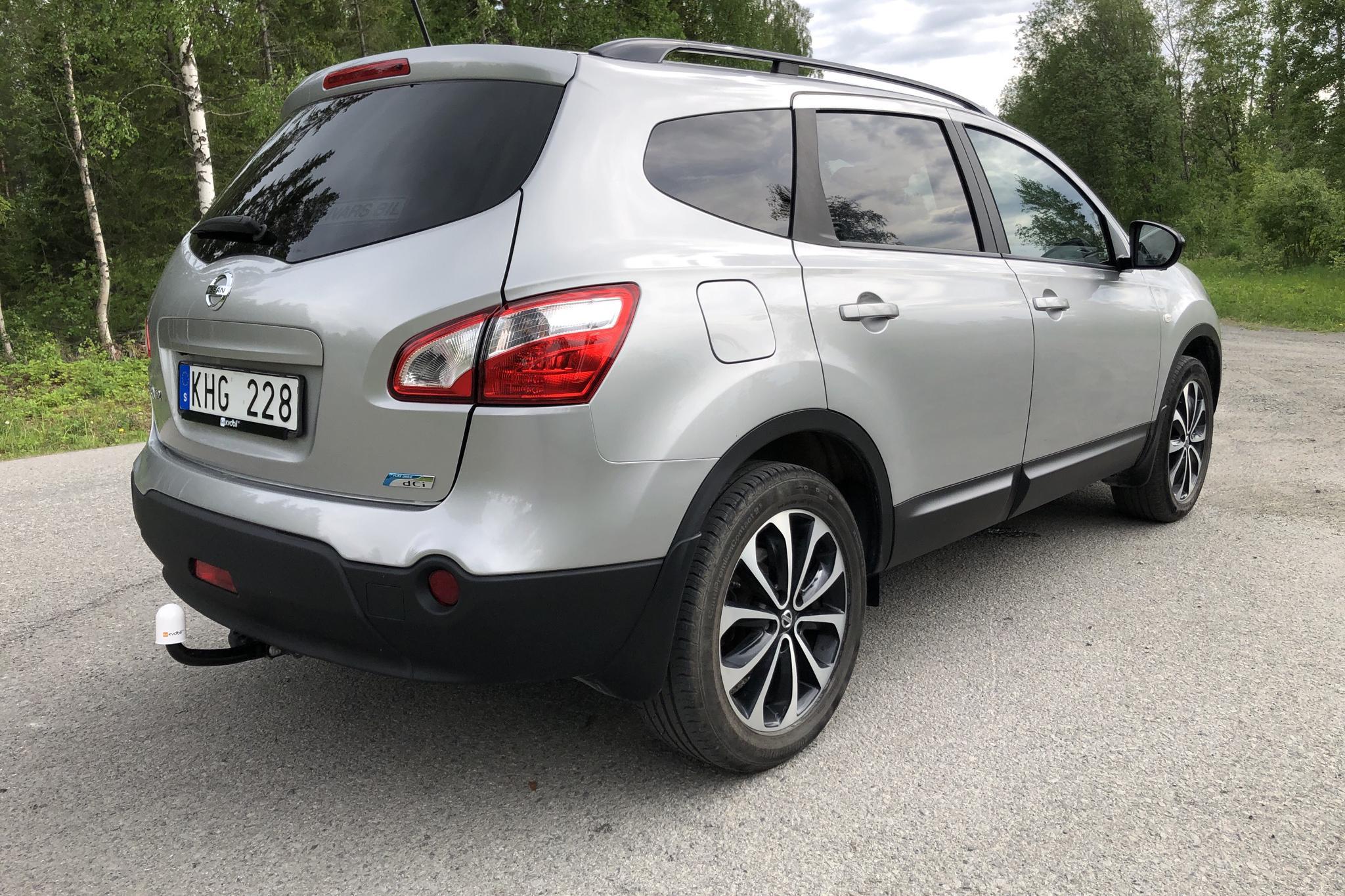 Nissan Qashqai+2 1.6 dCi (130hk) - 7 938 mil - Manuell - silver - 2013