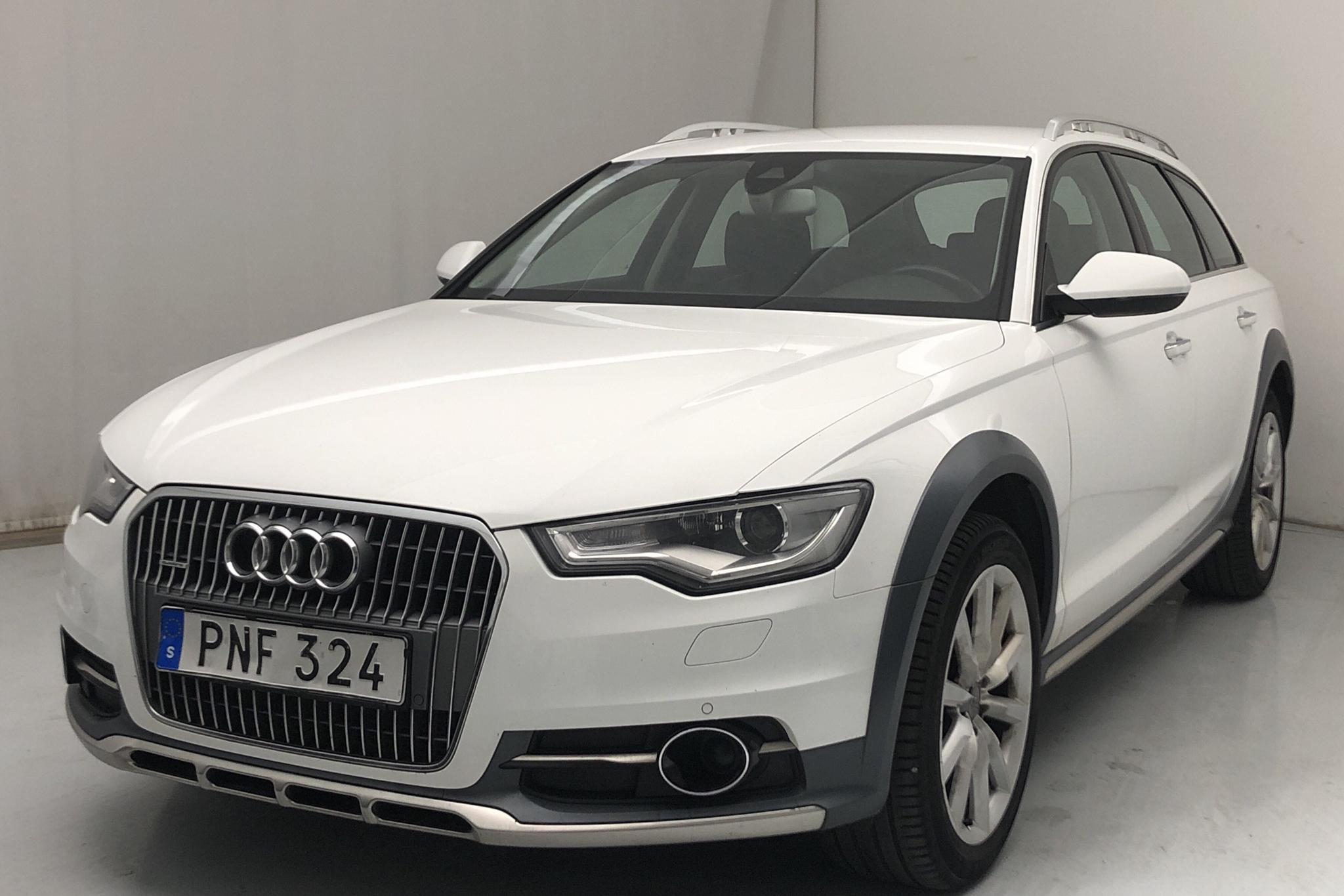 Audi A6 Allroad 3.0 TDI quattro (204hk) - 168 990 km - Automatic - white - 2014