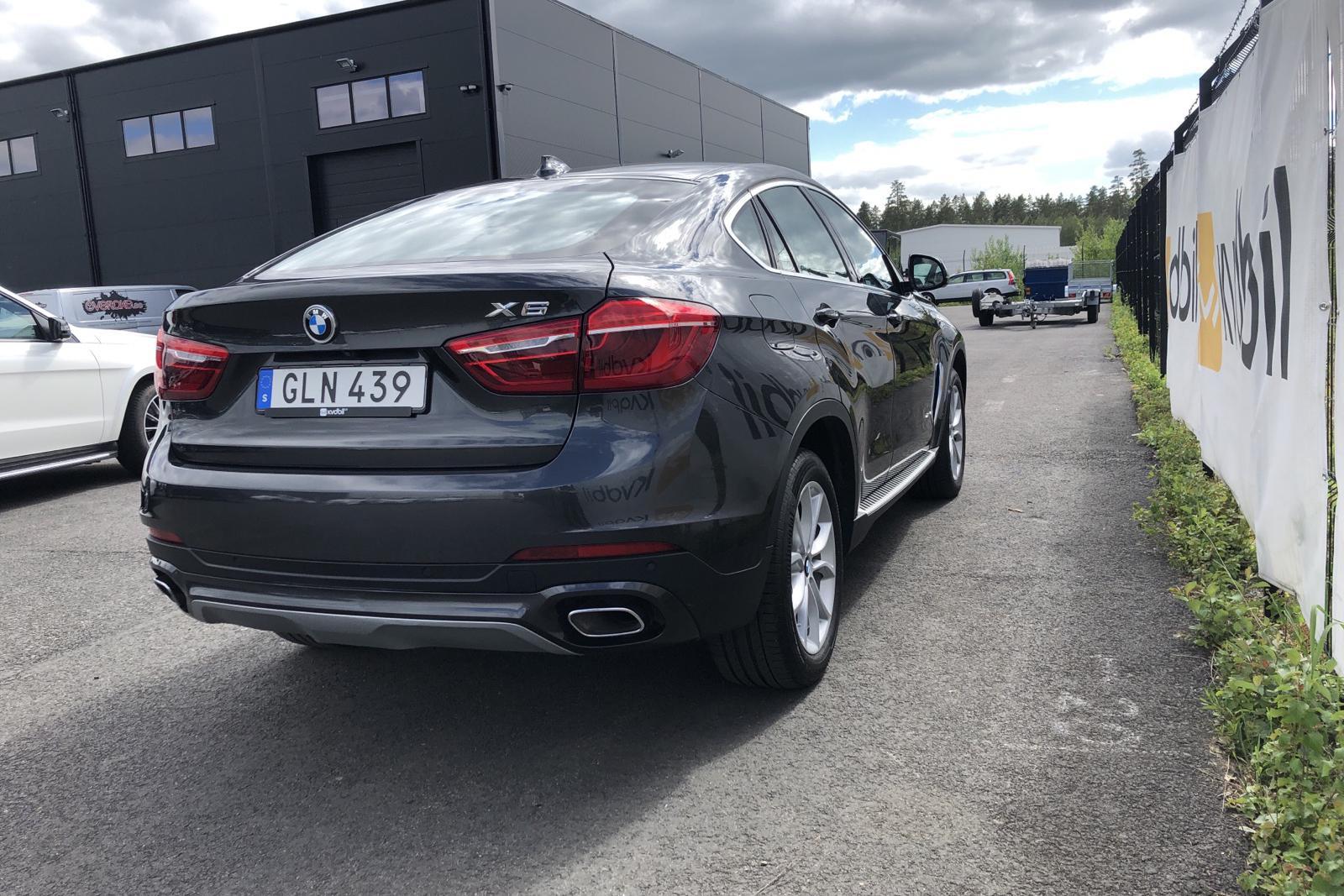 BMW X6 xDrive 40d, F16 (313hk) - 60 270 km - Automatic - gray - 2016