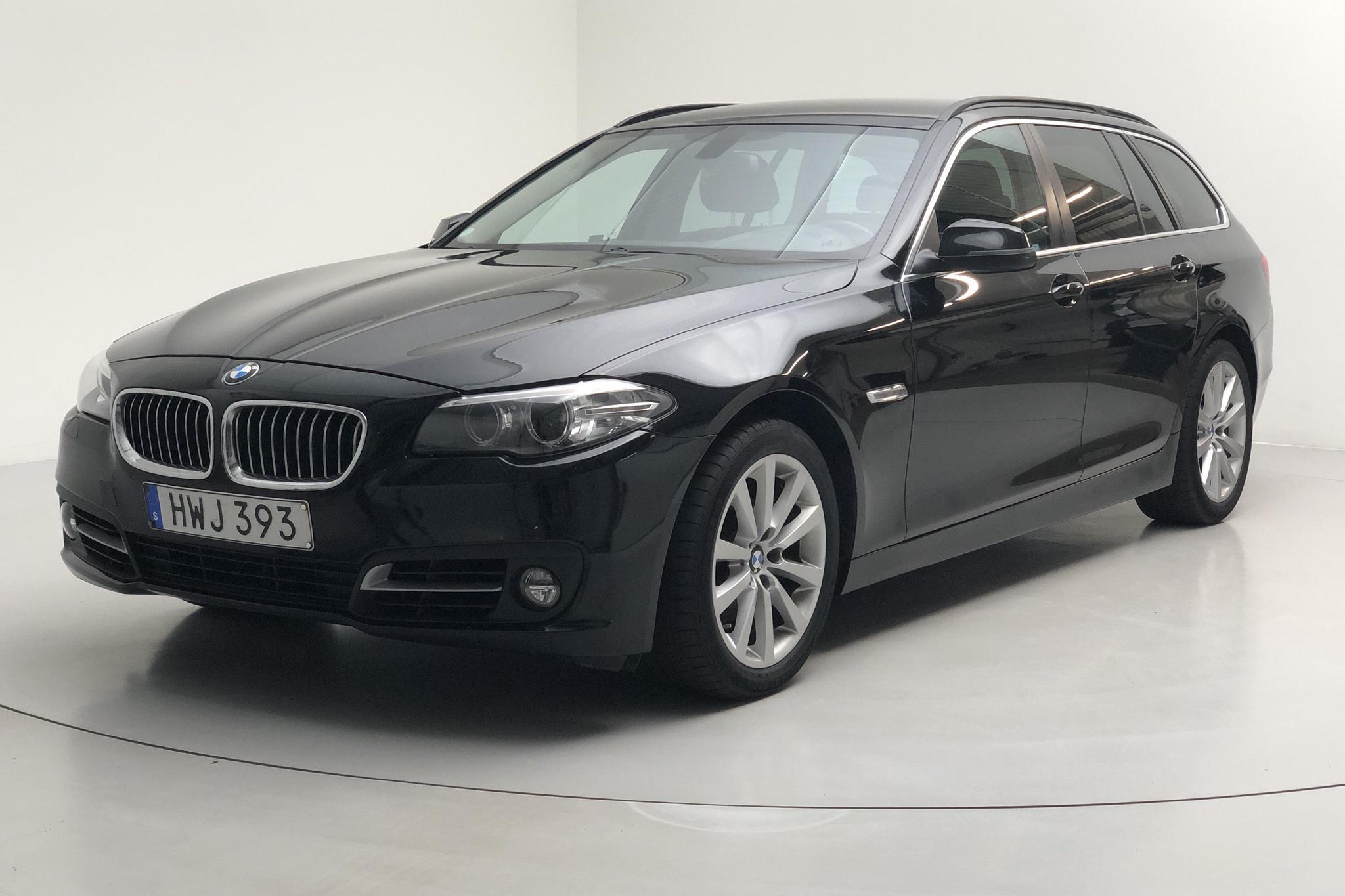 BMW 520d Touring, F11 (190hk) - 55 000 km - Automatic - black - 2016