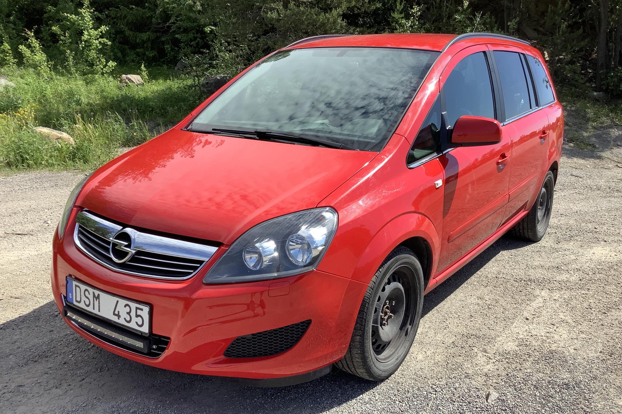 Opel Zafira II 1.6 CNG Turbo ecoFLEX (150hk)