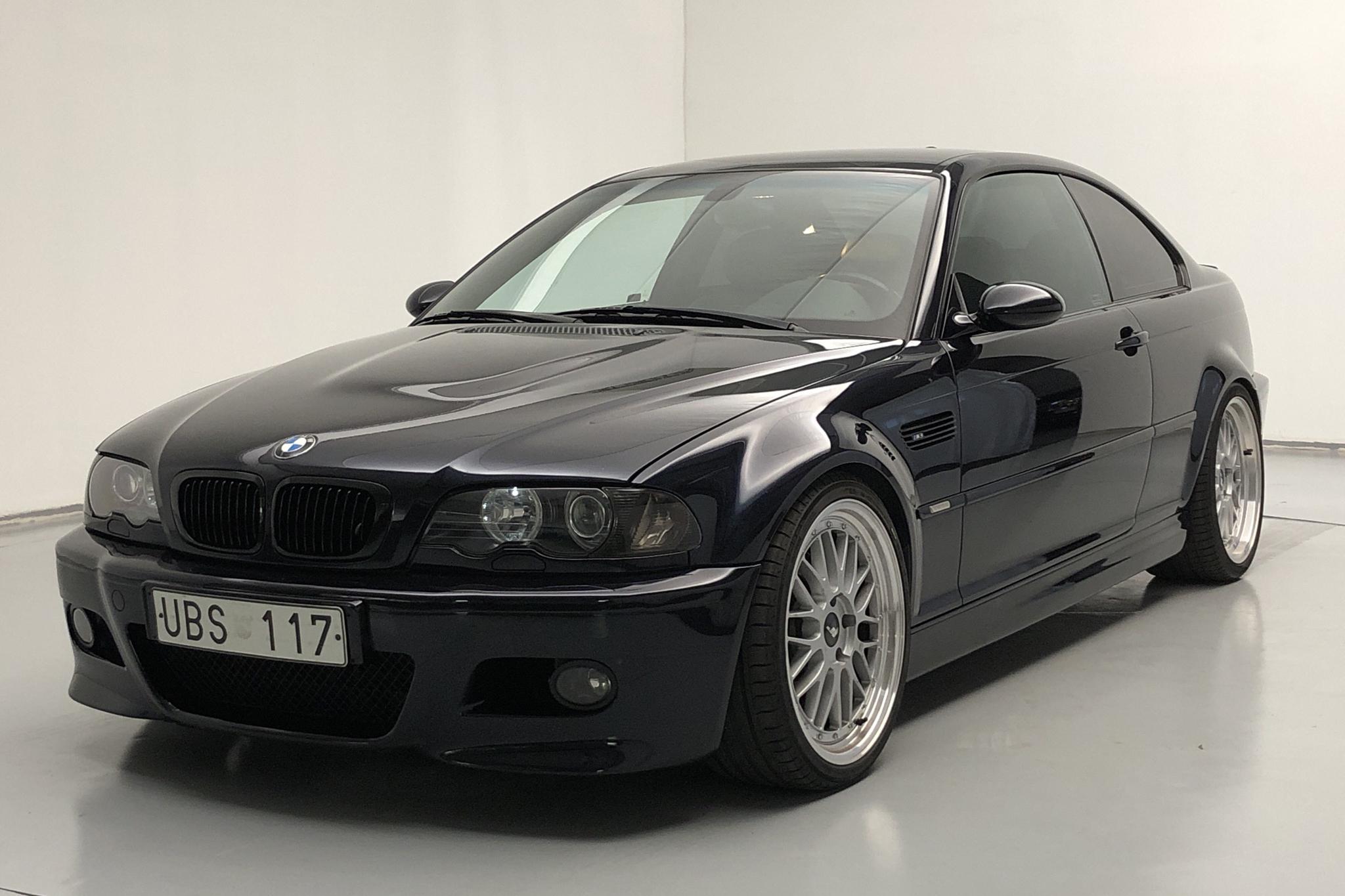 BMW M3 Coupé, E46 (343hk)