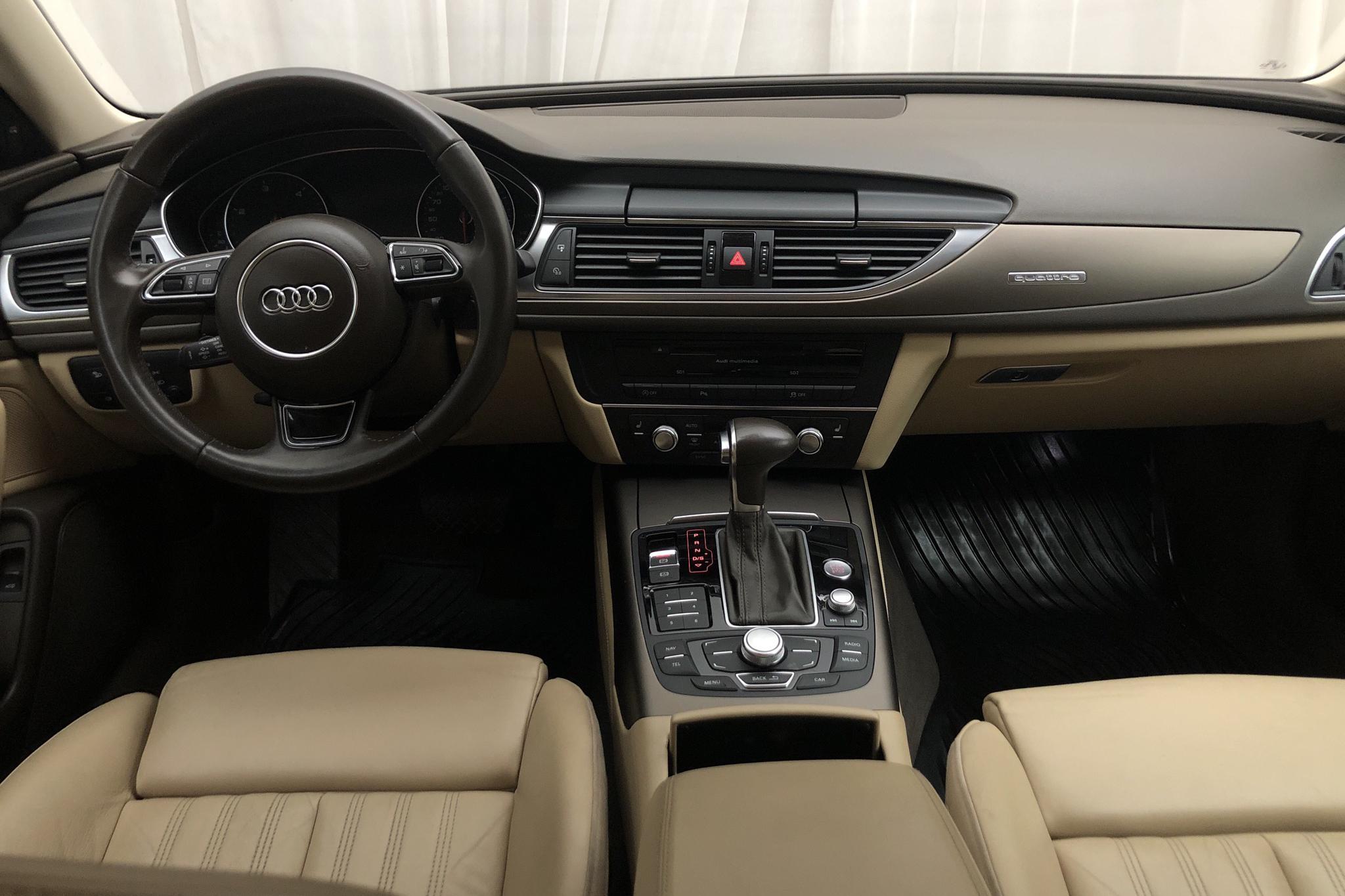 Audi A6 3.0 TDI quattro (204hk) - 117 980 km - Automatic - gray - 2014