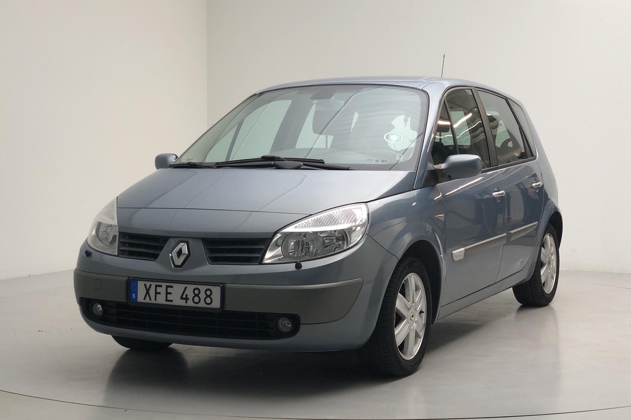 Renault Scénic II 1.6 16V (112hk) - 6 549 mil - Manuell - Light Blue - 2006