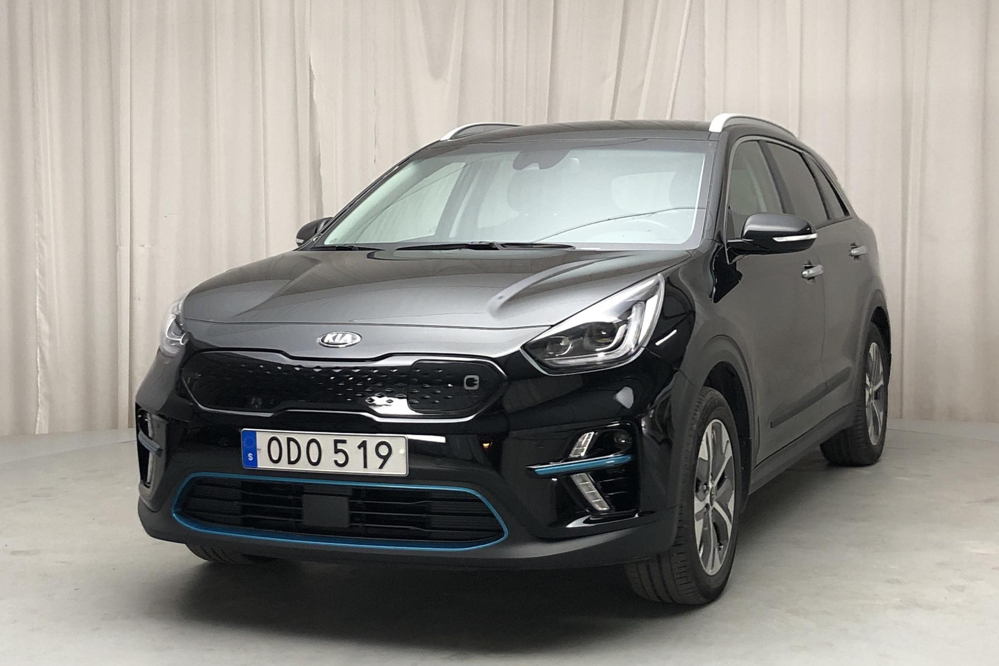 KIA Niro EV 64 kWh (204hk) - 5 685 mil - Automat - svart - 2019