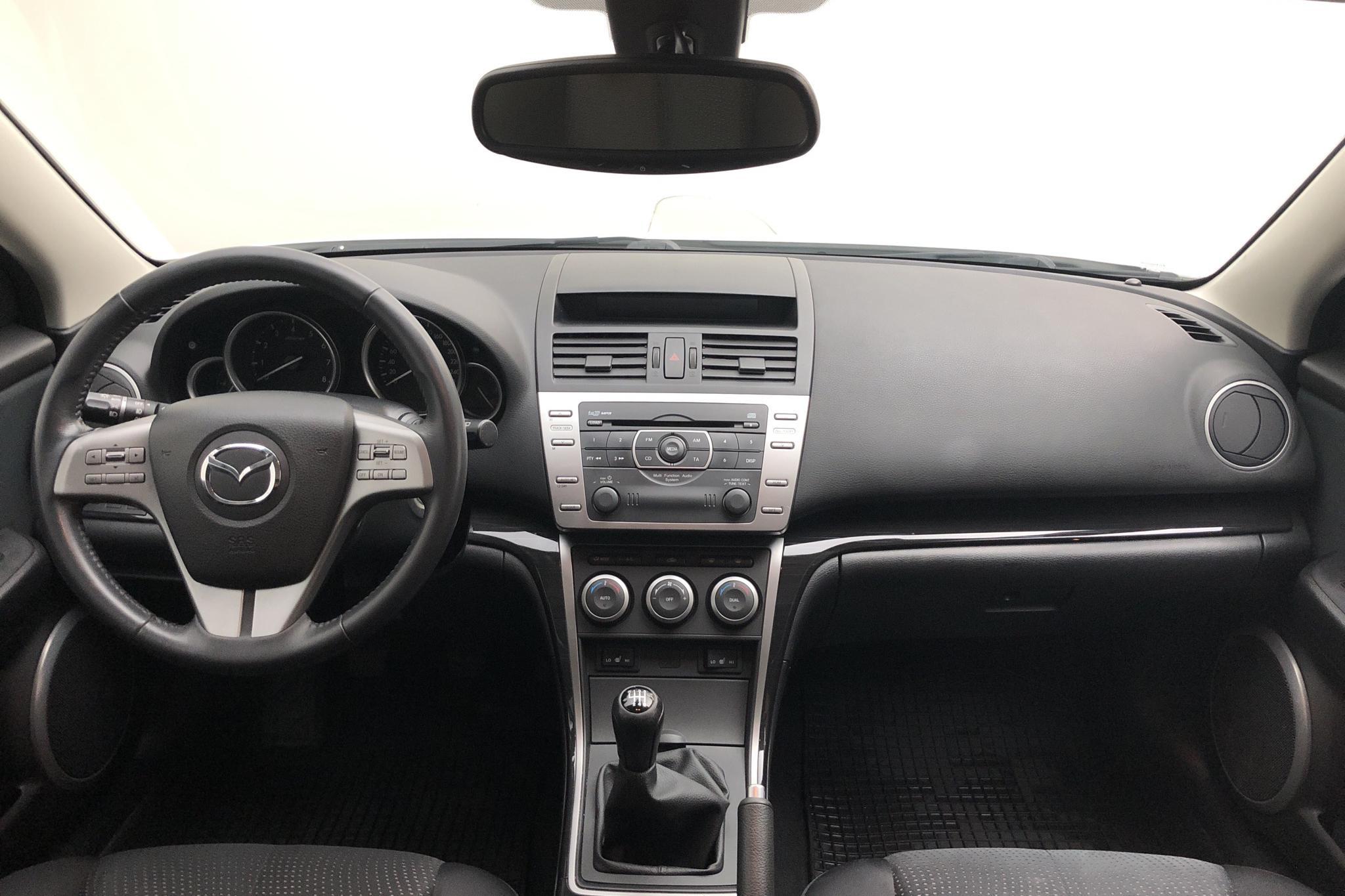 Mazda 6 2.0 Kombi (147hk) - 20 242 mil - Manuell - vit - 2009