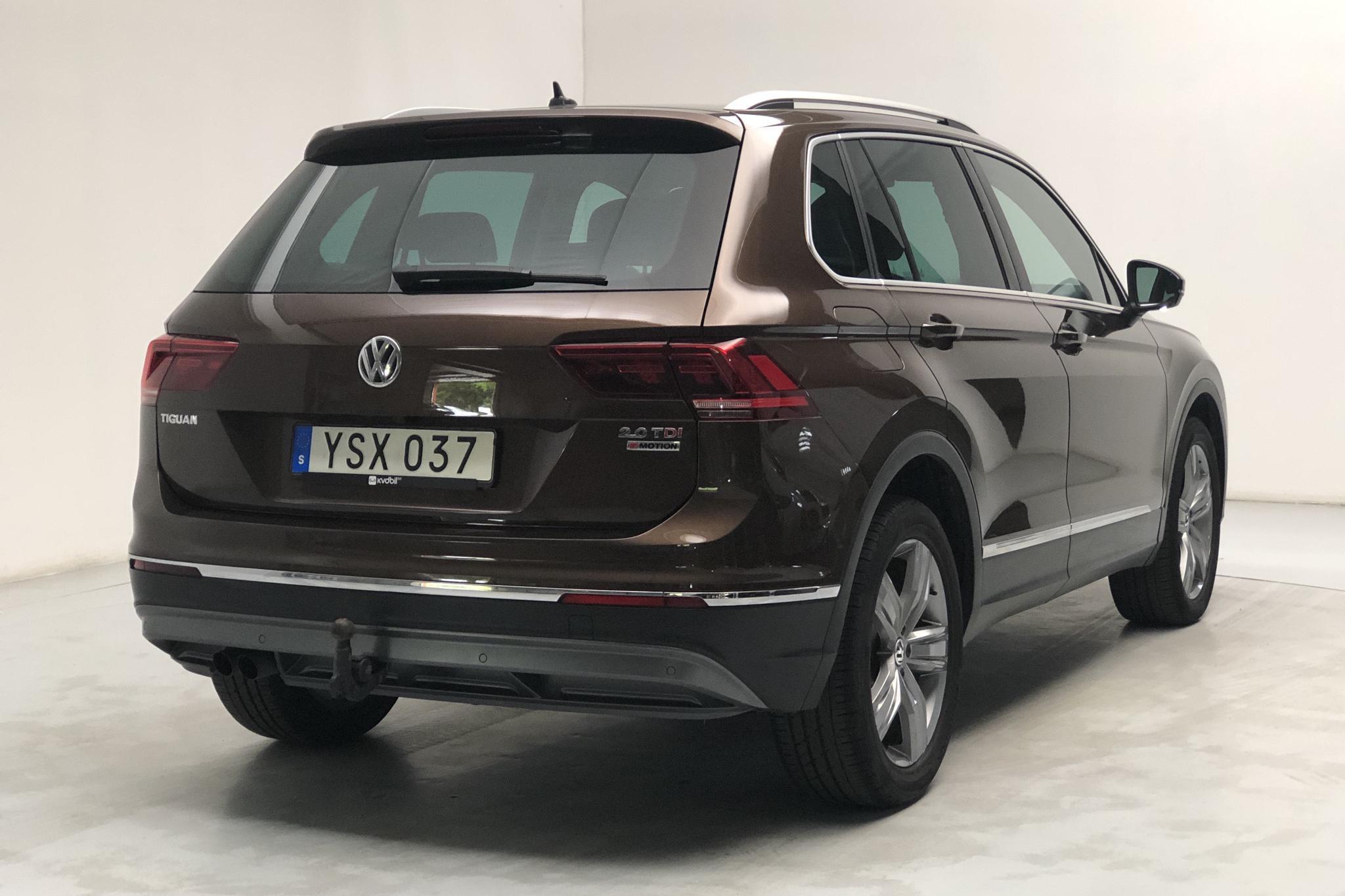 VW Tiguan GT 2.0 TDI 4MOTION (190hk) - 74 530 km - Automatic - Dark Brown - 2018