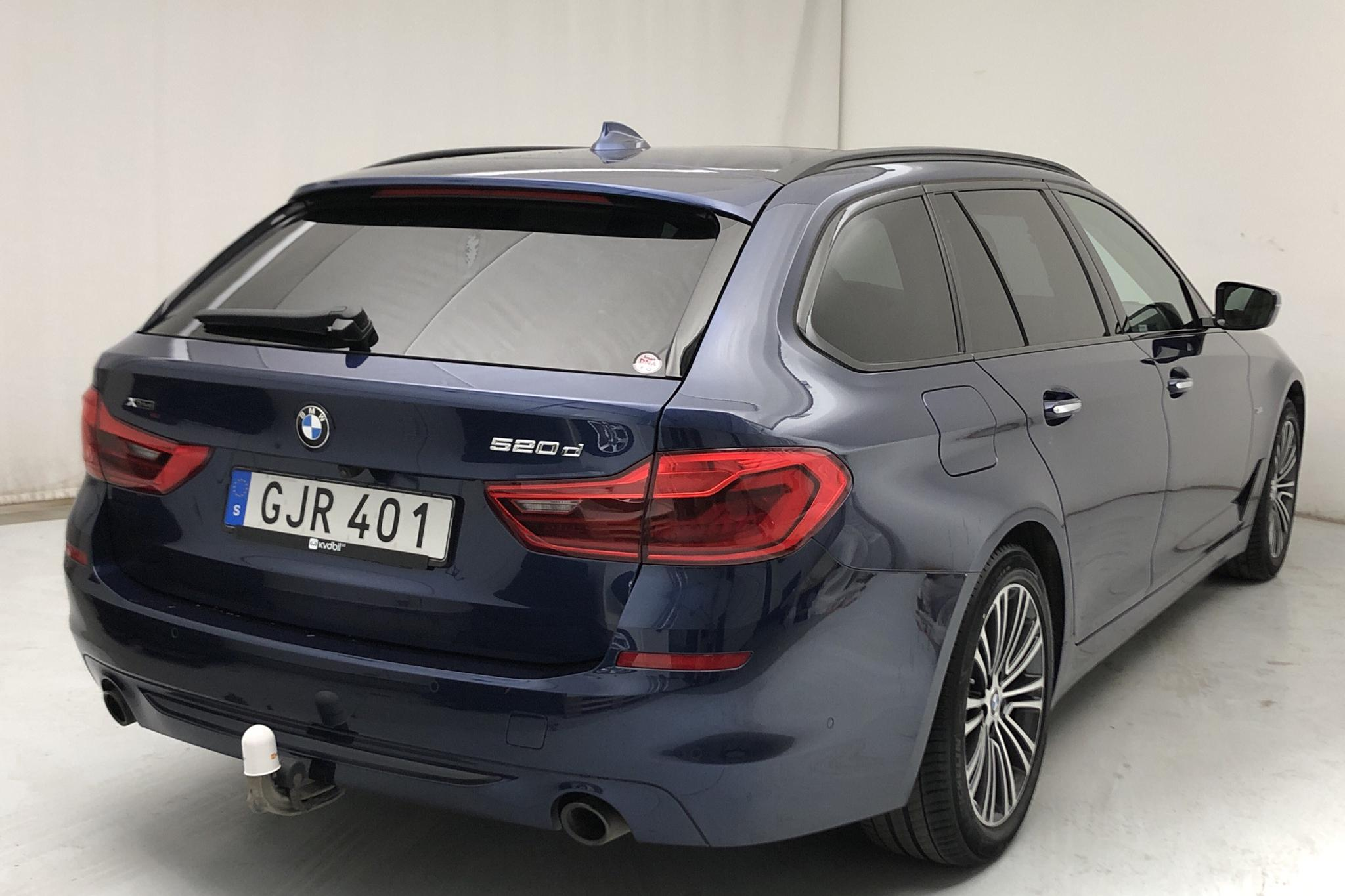BMW 520d xDrive Touring, G31 (190hk) - 3 626 mil - Automat - blå - 2018
