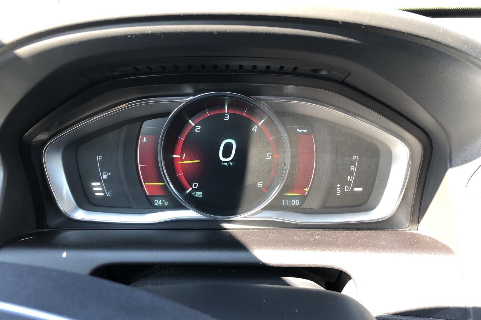 Volvo XC60 D4 2WD (181hk) - 17 575 mil - Automat - röd - 2014