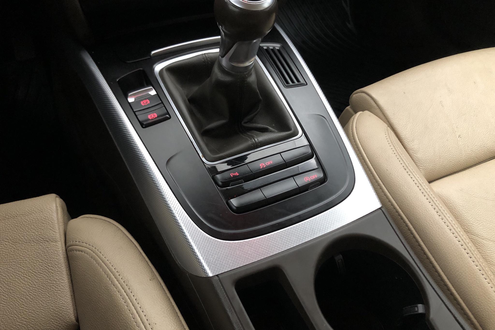 Audi A5 2.0 TDI Sportback quattro (177hk) - 148 530 km - Manual - gray - 2012