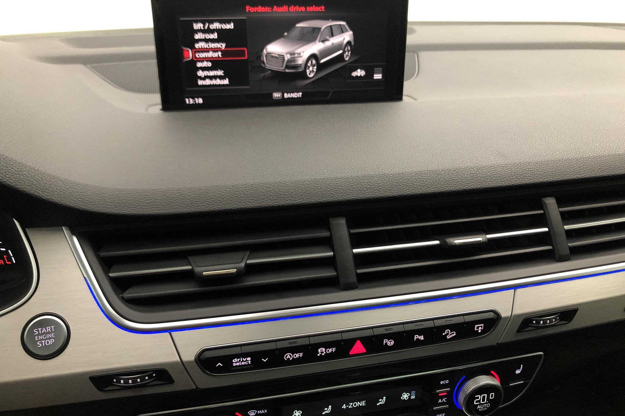Audi Q7 3.0 TDI quattro (272hk) - 155 280 km - Automatic - black - 2016