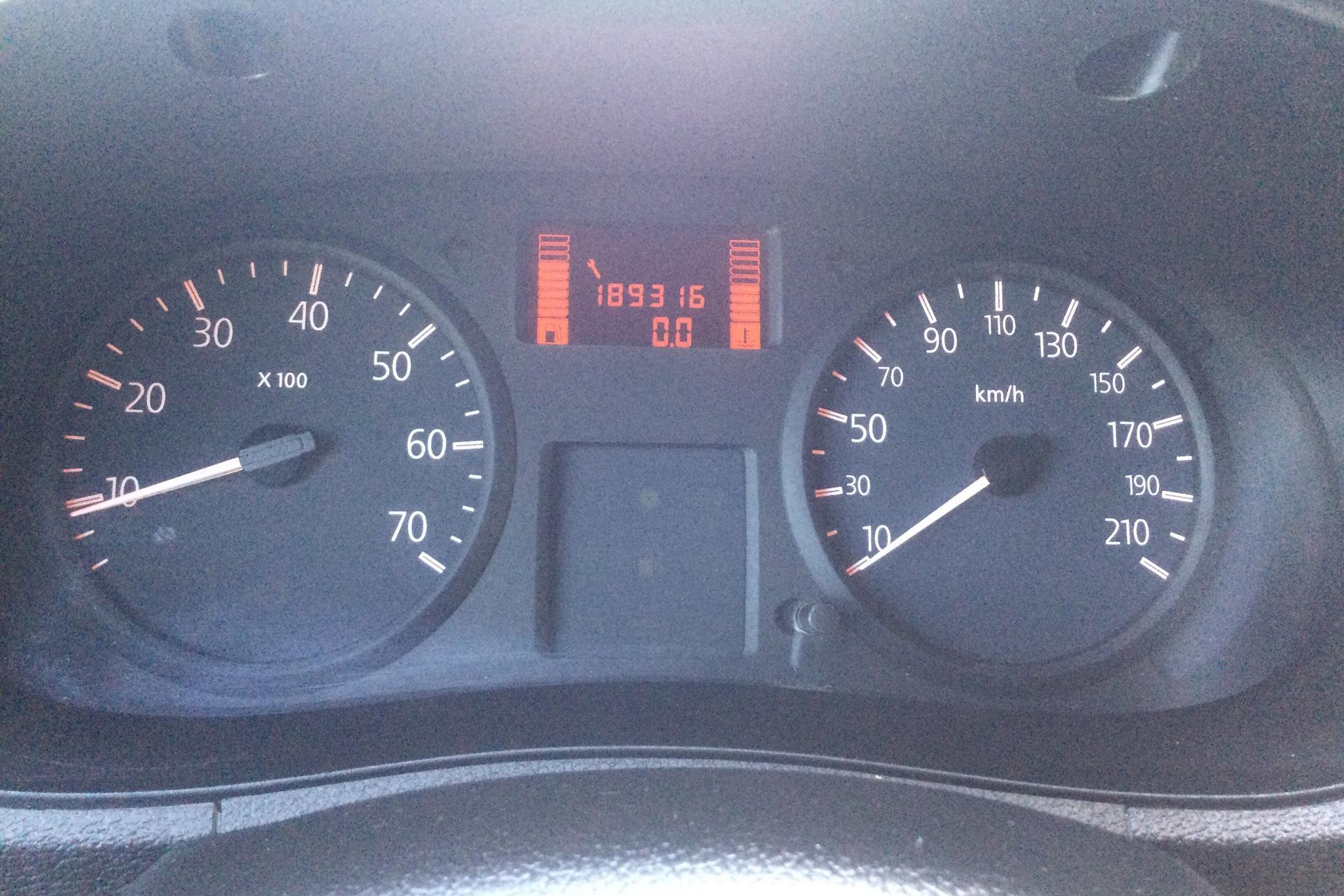 Renault Kangoo Express 1.5 dCi Skåp (65hk) - 18 931 mil - Manuell - Light Grey - 2008