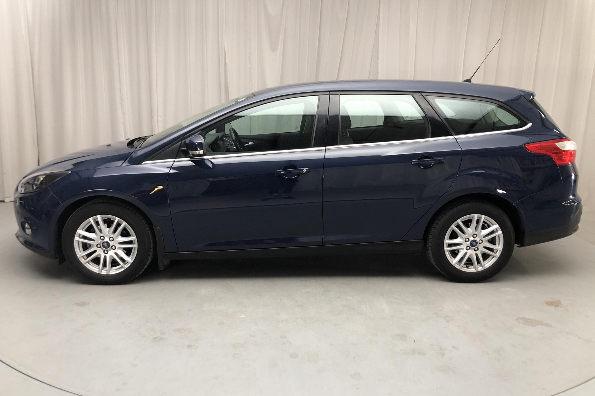 Ford Focus 1.0 EcoBoost Kombi (100hk) - 103 730 km - Manual - blue - 2013