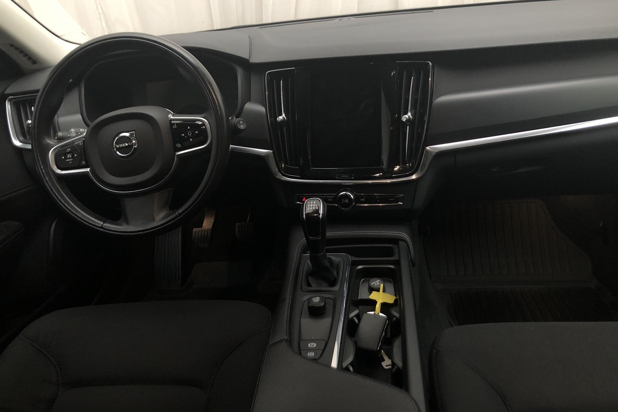 Volvo V90 D3 (150hk) - 126 860 km - Manual - black - 2018