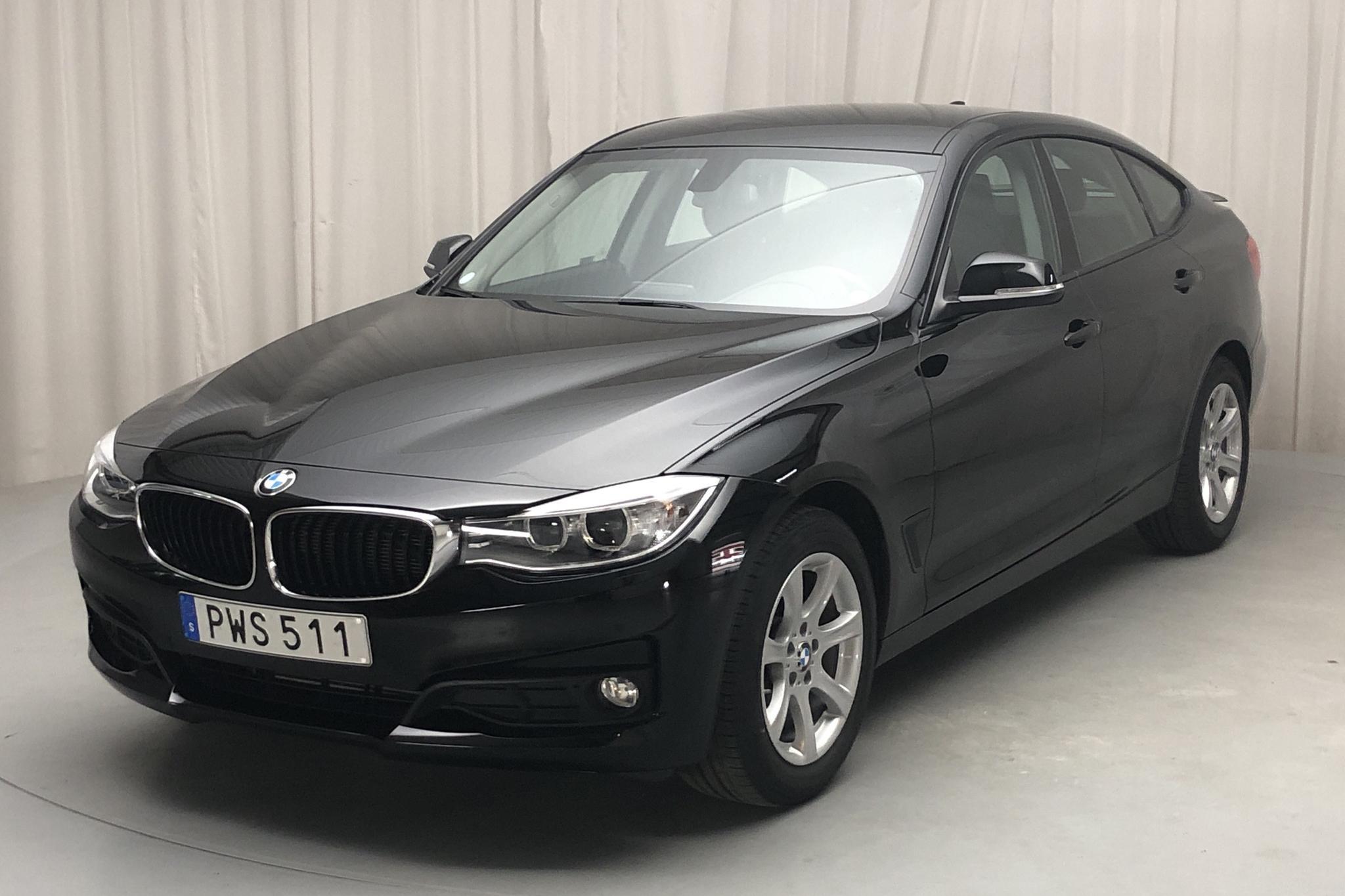 BMW 320d GT xDrive, F34 (190hk) - 36 810 km - Automatic - black - 2016