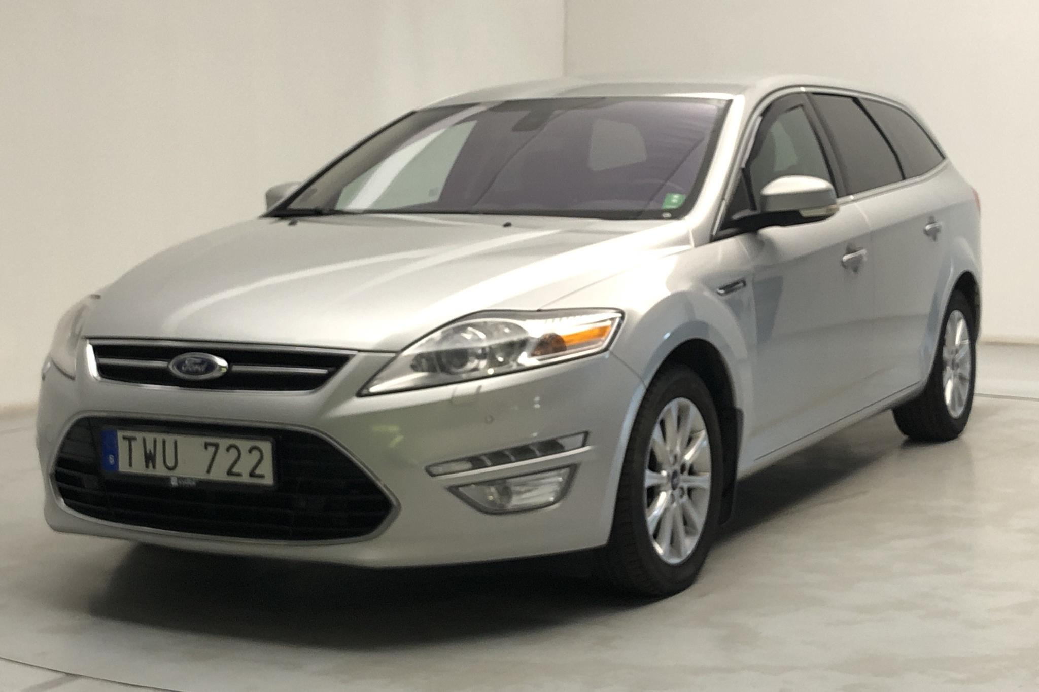 Ford Mondeo 2.0 Duratorq TDCi Kombi (163hk) - 236 910 km - Manual - gray - 2011