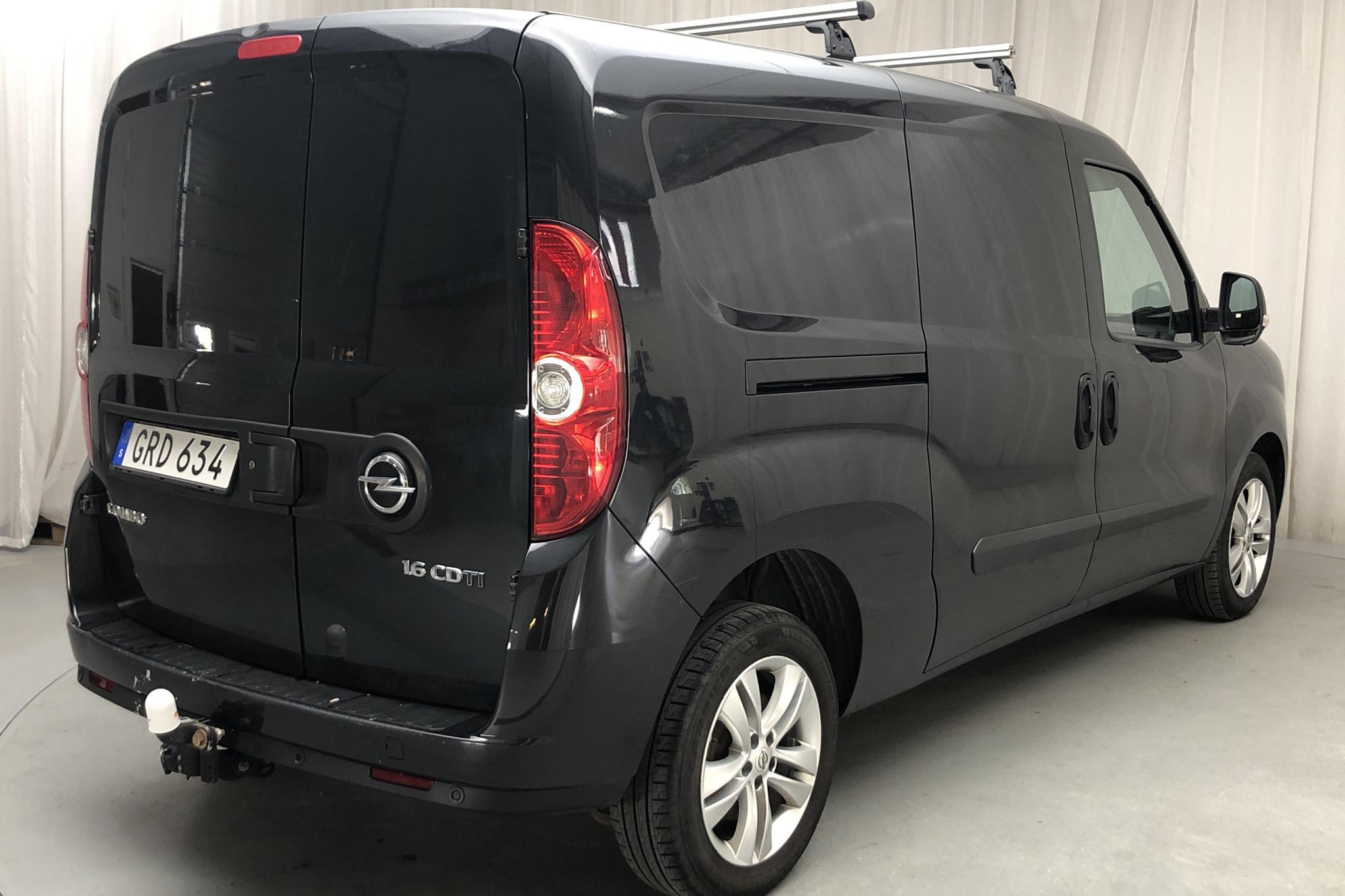Opel Combo 1.6 CDTI Skåp (105hk) - 104 790 km - Manual - black - 2015