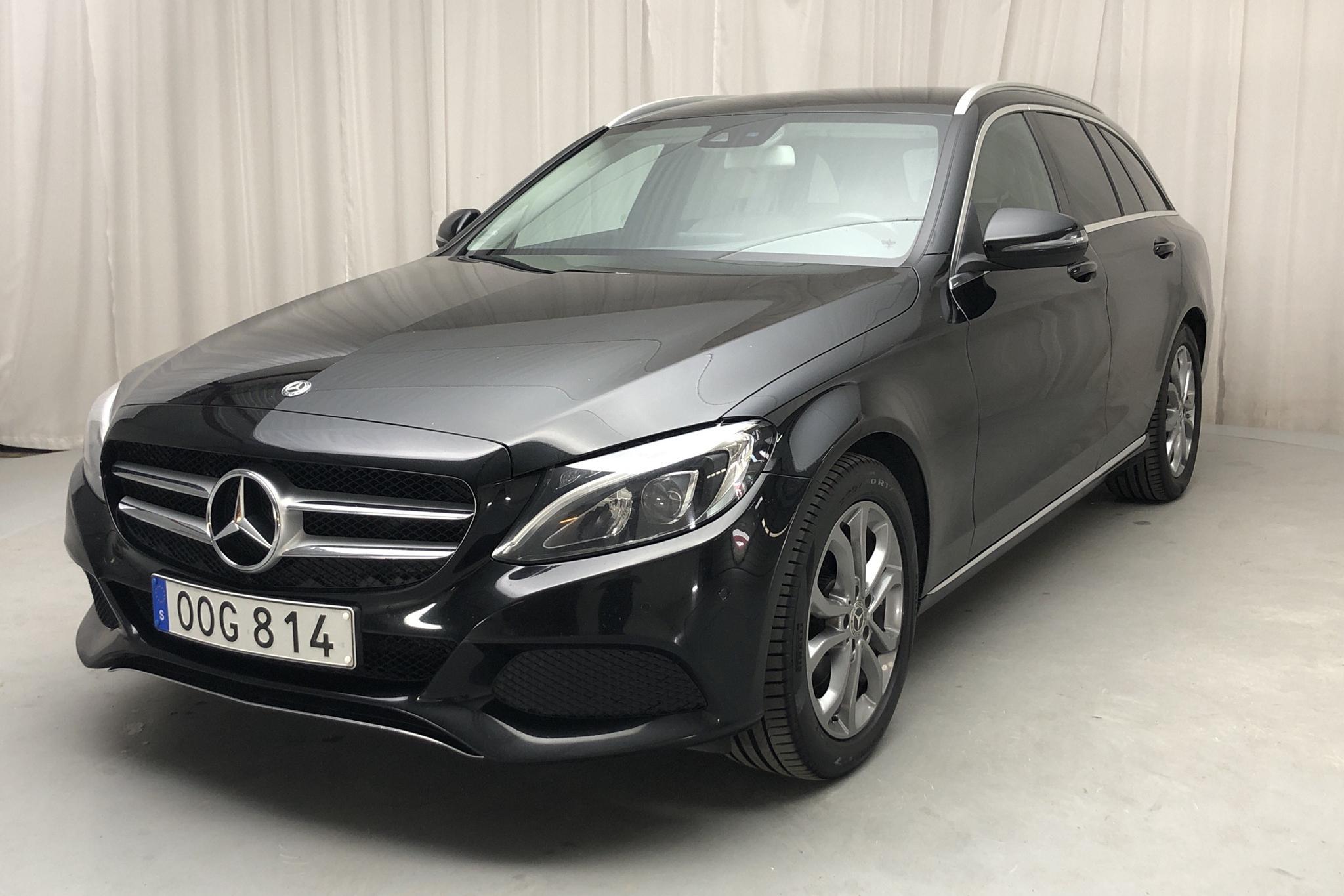 Mercedes C 220 d Kombi S205 (170hk) - 146 710 km - Automatic - black - 2017